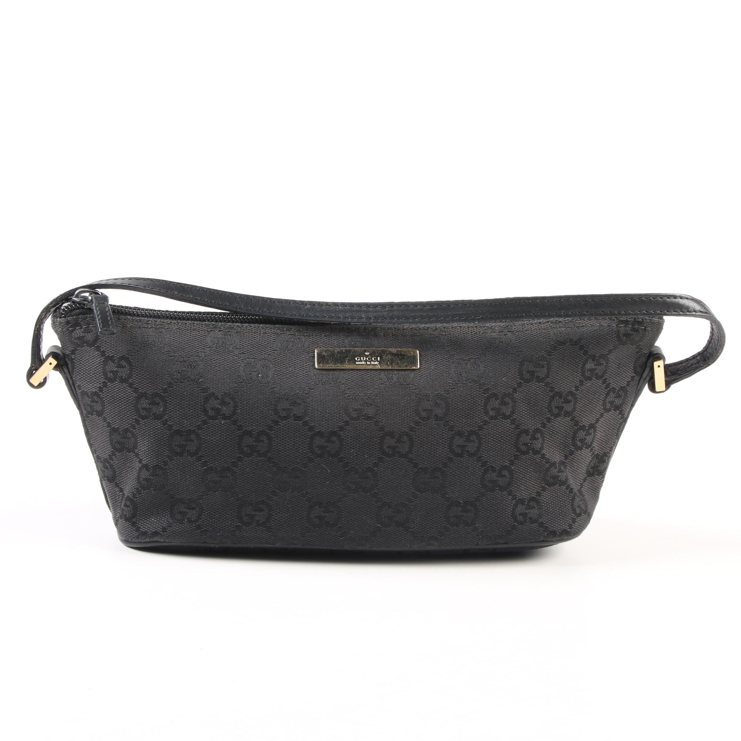 Gucci GG Canvas Demi Handbag in Black