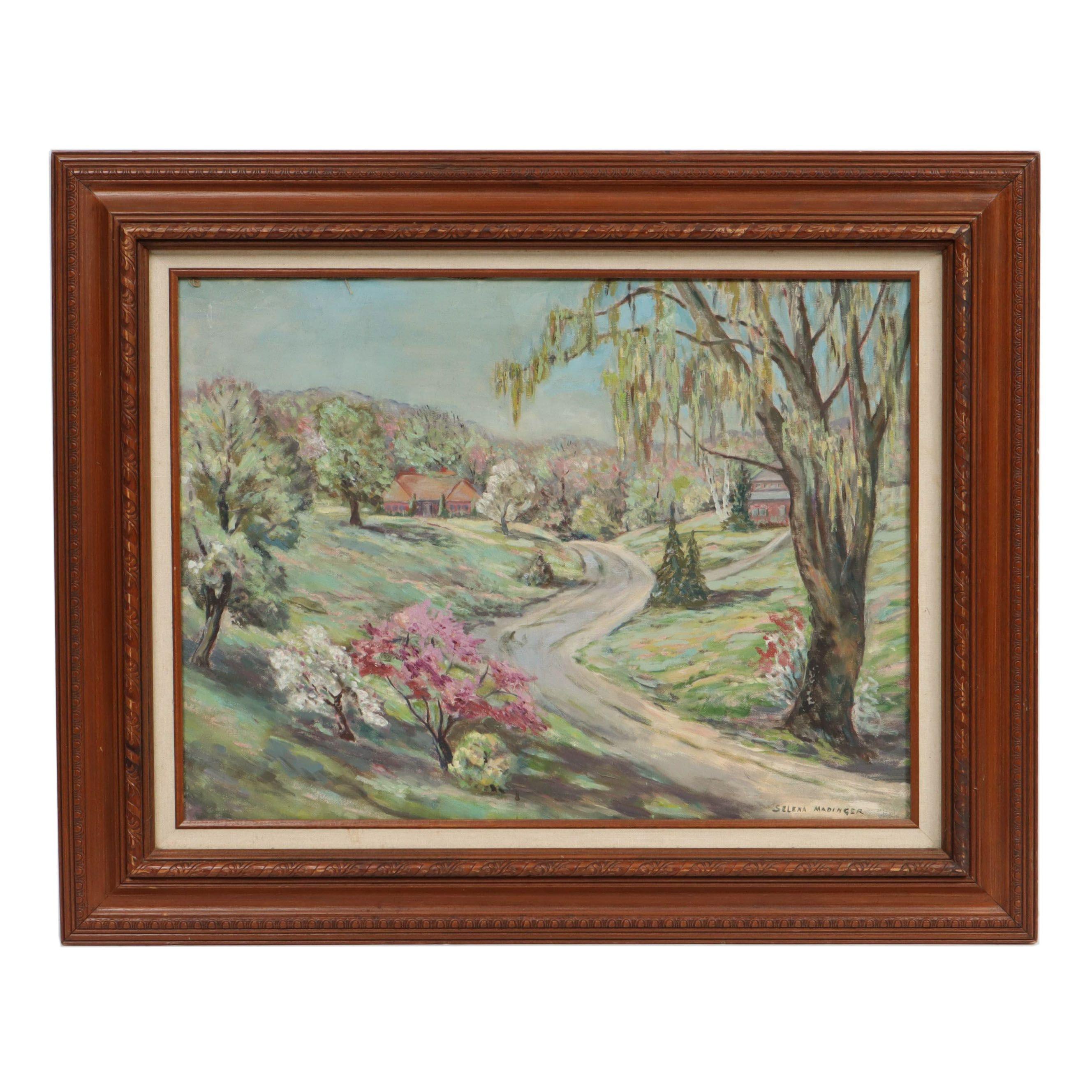Selena Madinger Landscape Oil Painting