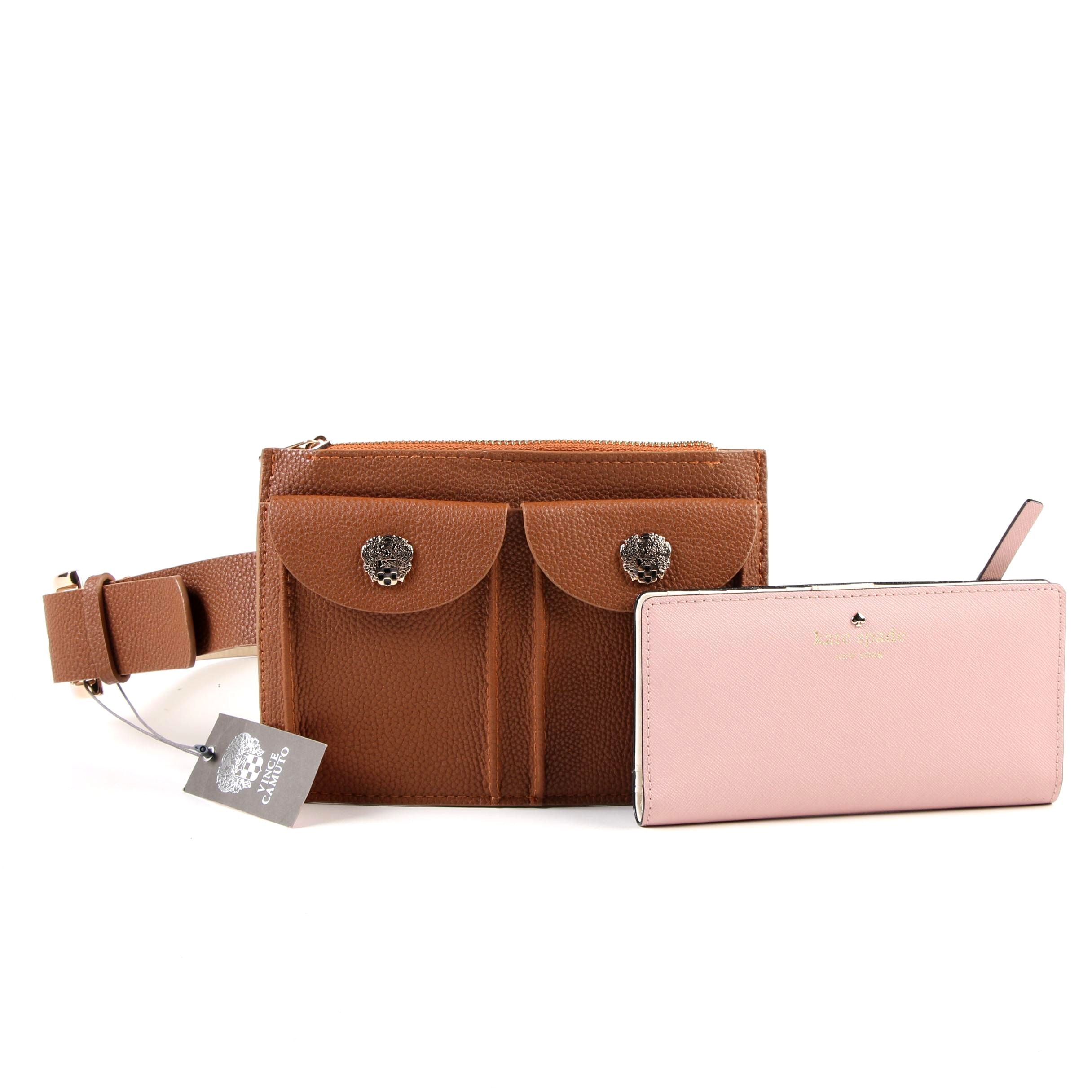 Kate Spade New York Grand Street Stacy Wallet and Vince Camuto Belt Bag