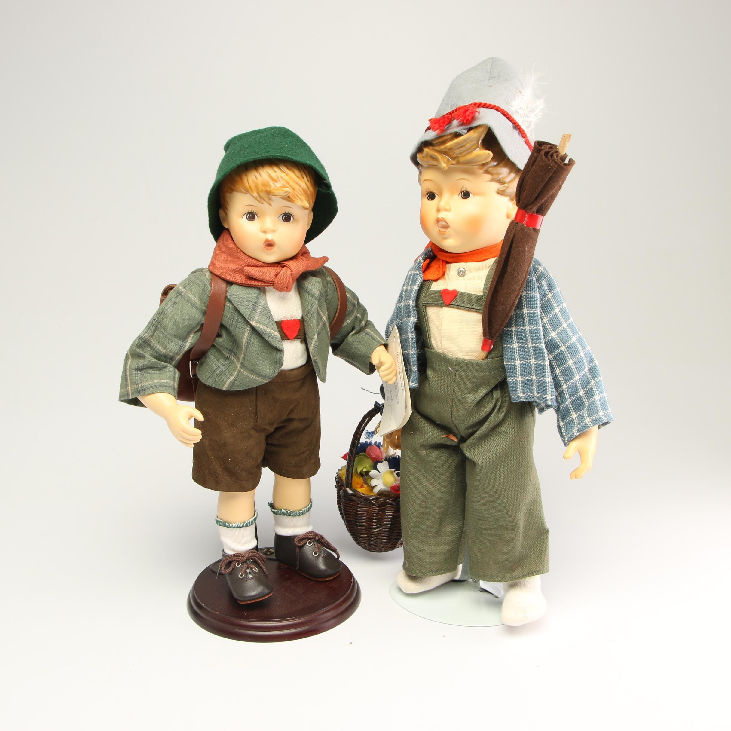 Goebel Porcelain Dolls
