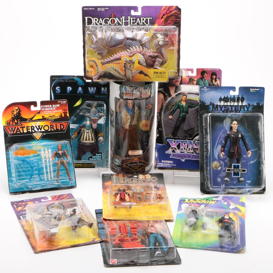 Assorted Action Figures Including