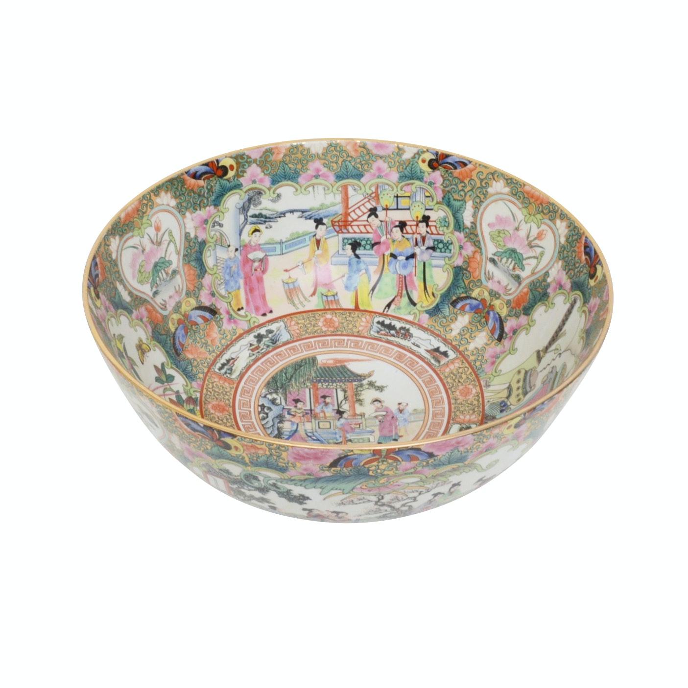 Japanese Porcelain Serving Bowl