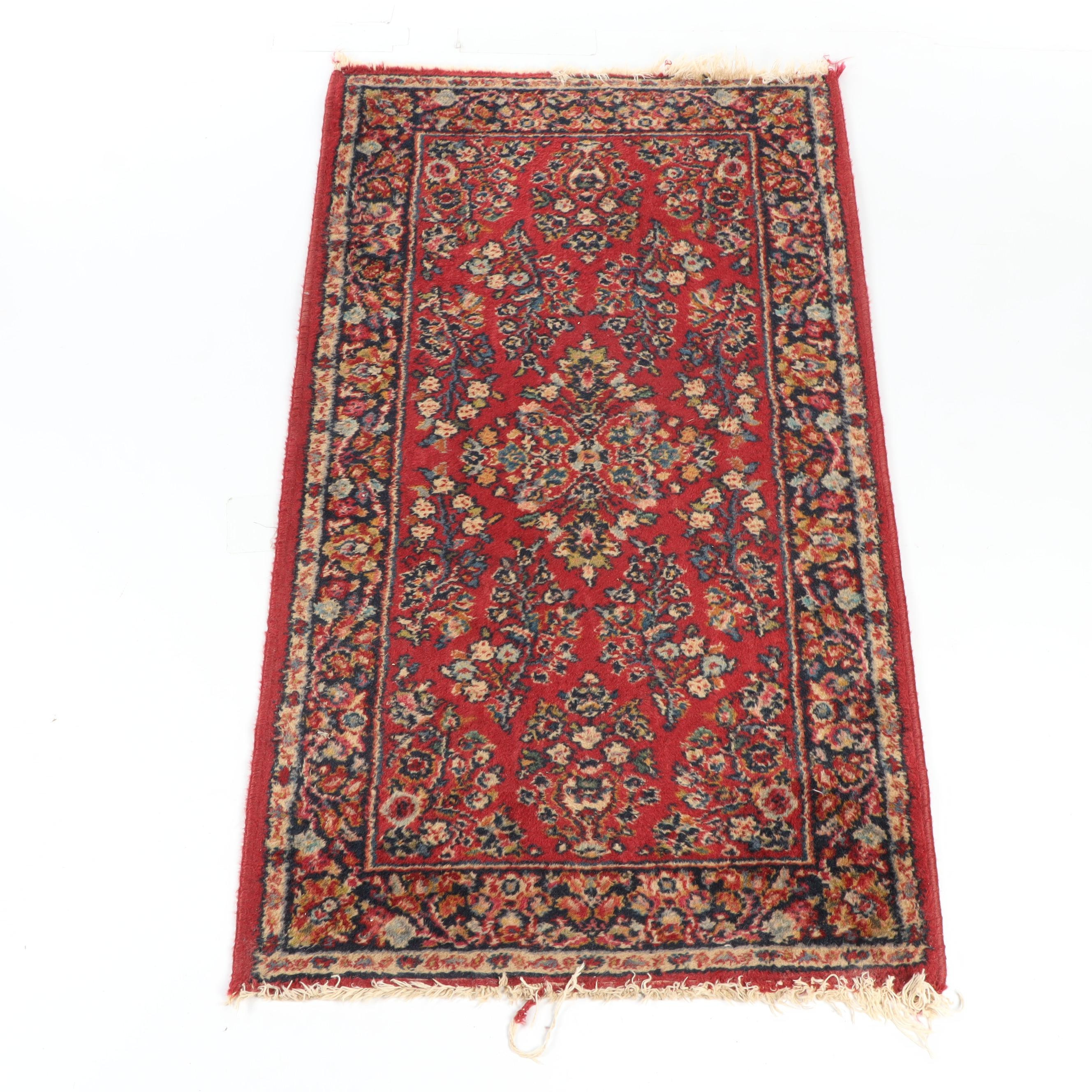Power-Loomed Karastan Wool Rug