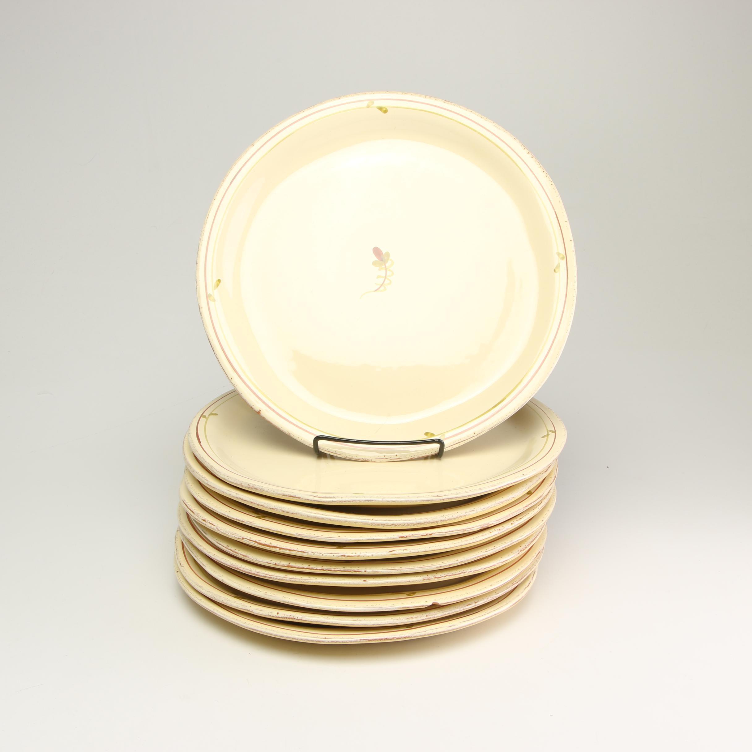 Vietri Italian Ceramic Dinner Plates