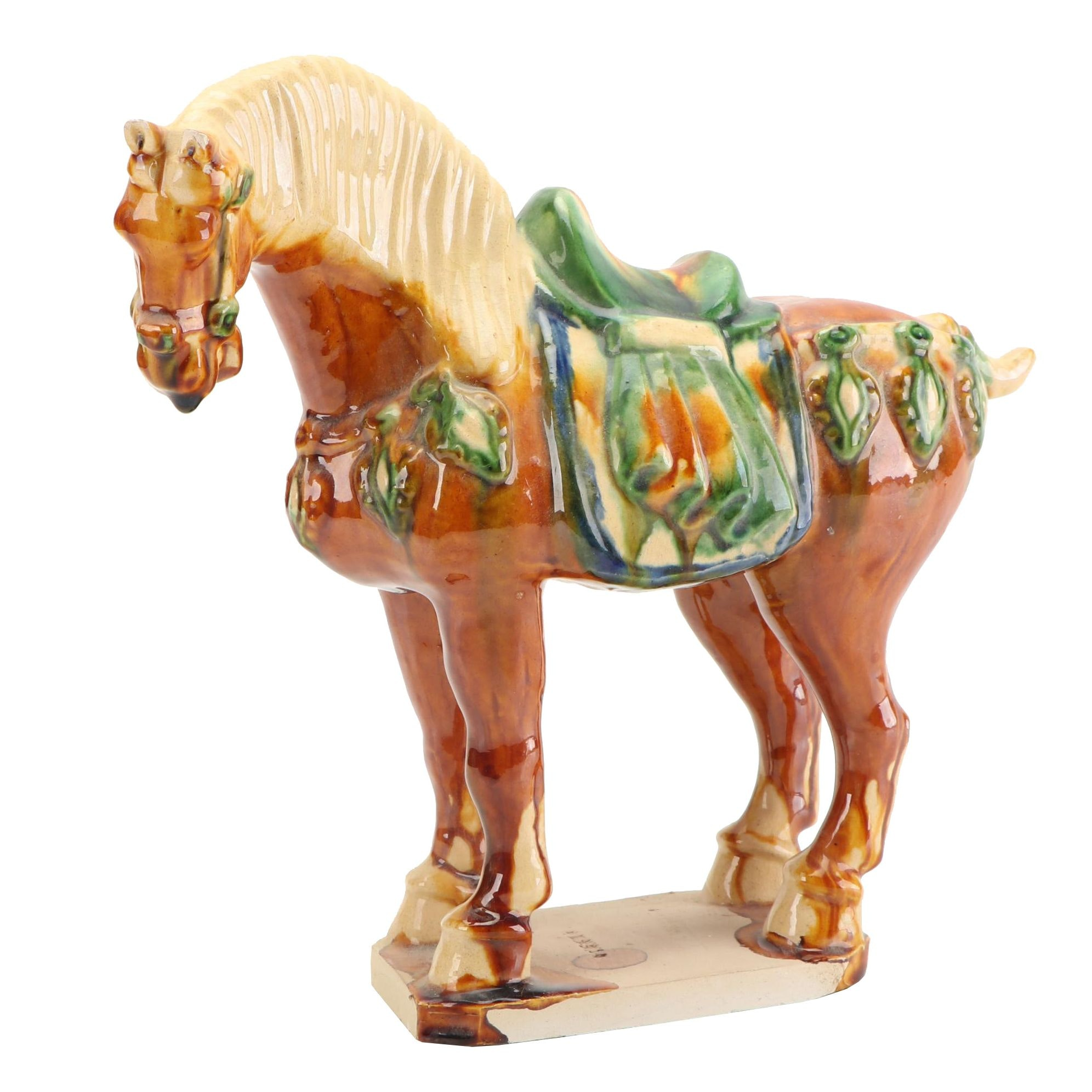 Chinese Tang Style Ceramic Horse