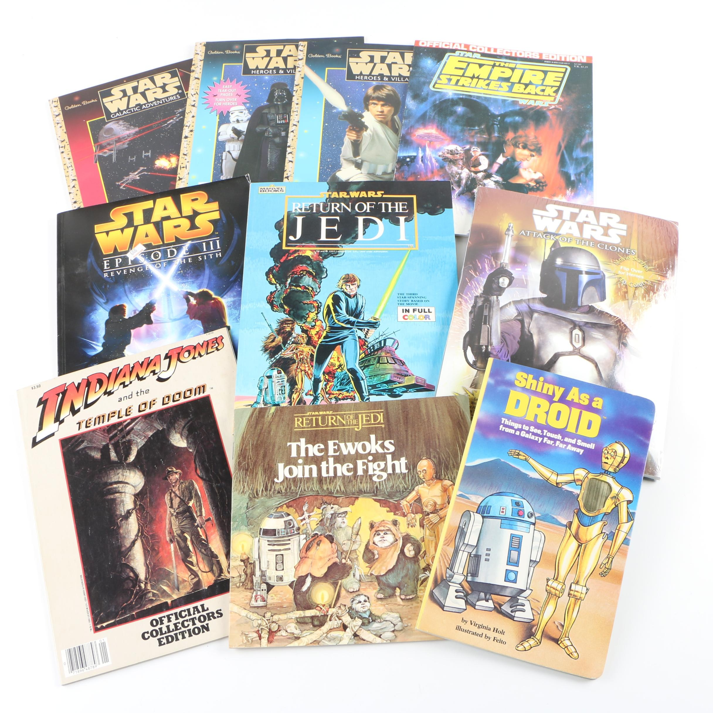 """""""Star Wars"""" Children's Picture and Coloring Books and More"""