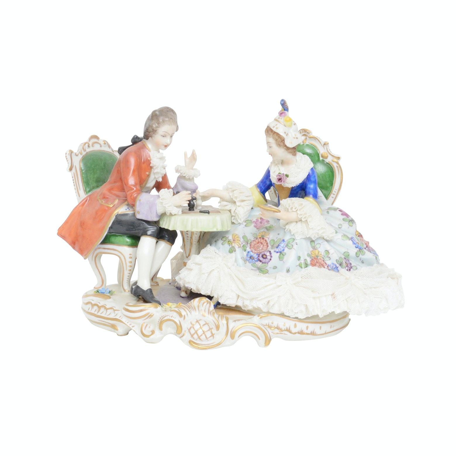 Victorian Porcelain Sculpture