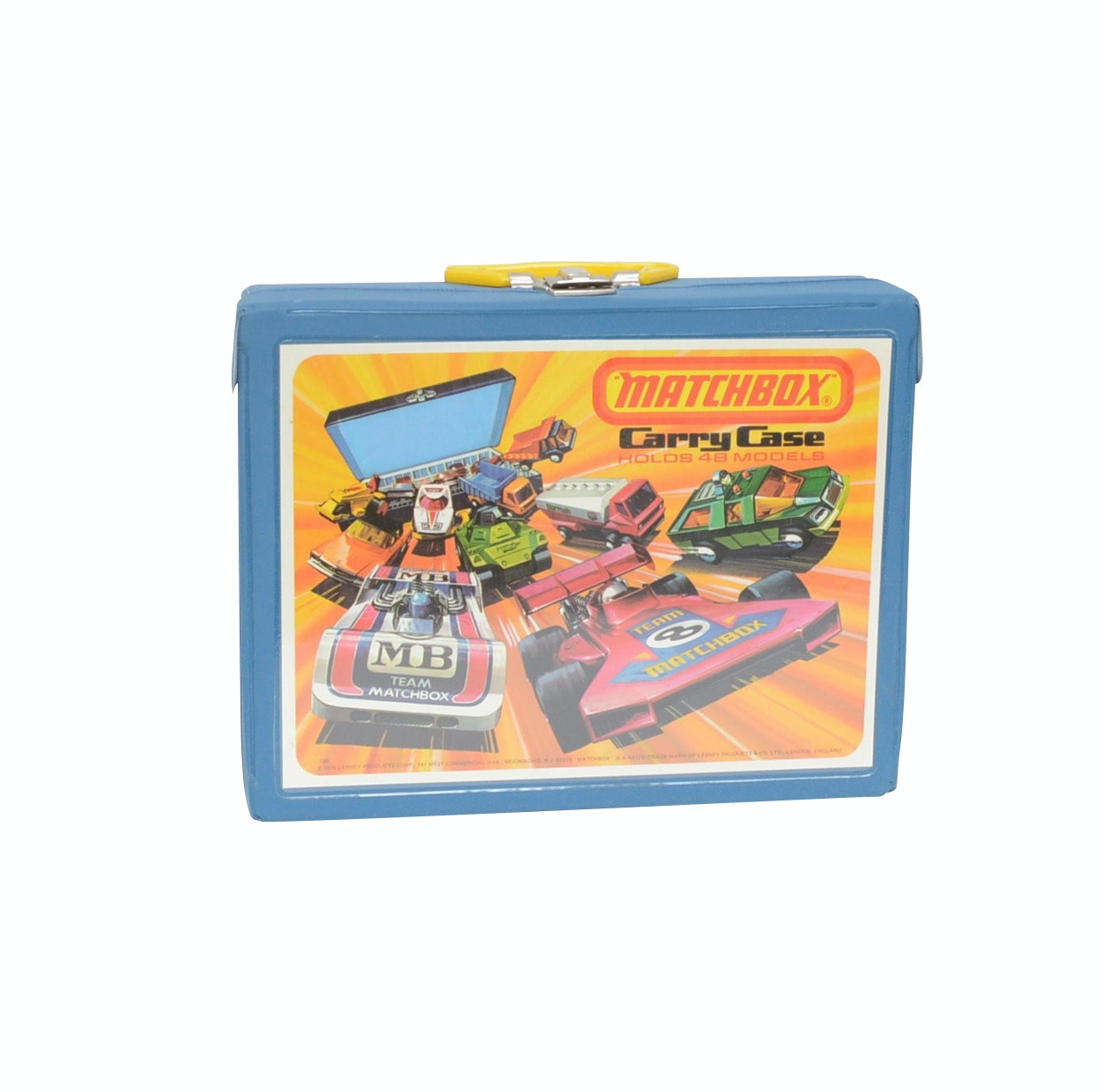Matchbox Cars with Case
