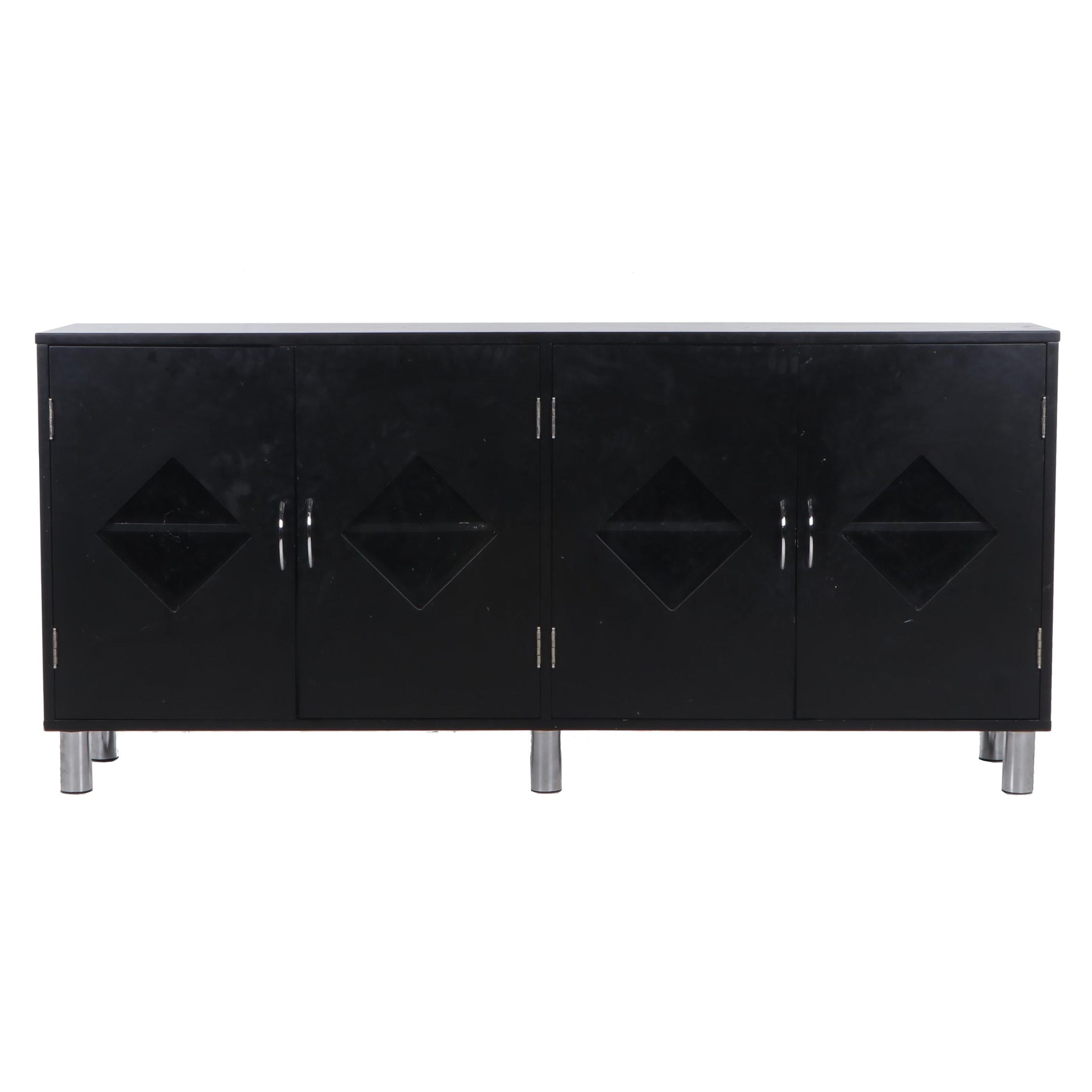 Contemporary Painted Wood Credenza