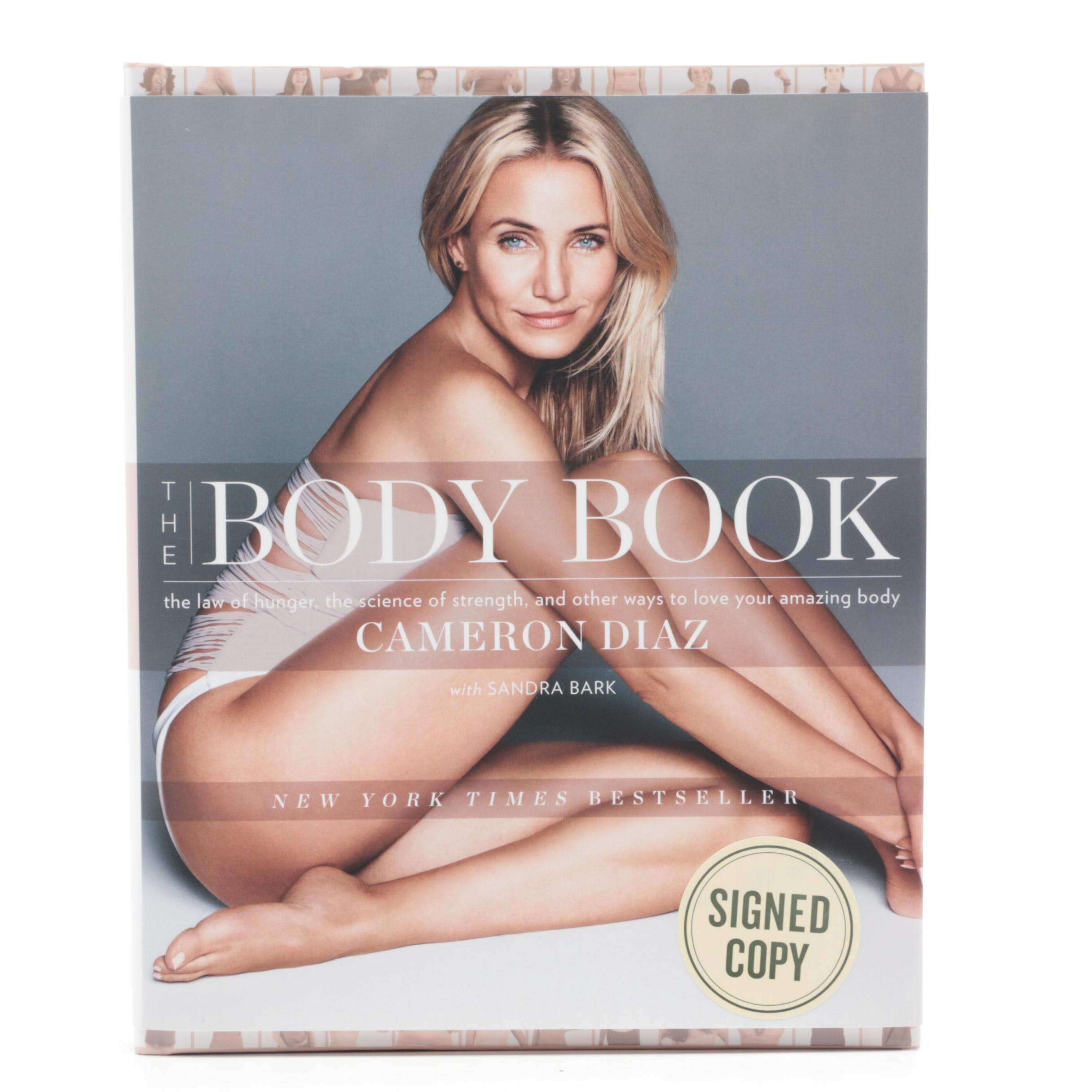 "Cameron Diaz Signed ""The Body Book"""