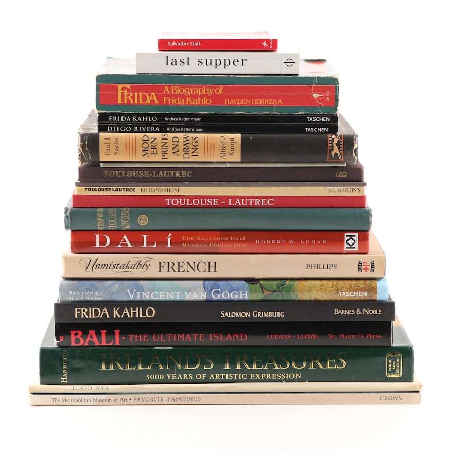 """""""Ireland's Treasures"""" and Other Art Books"""
