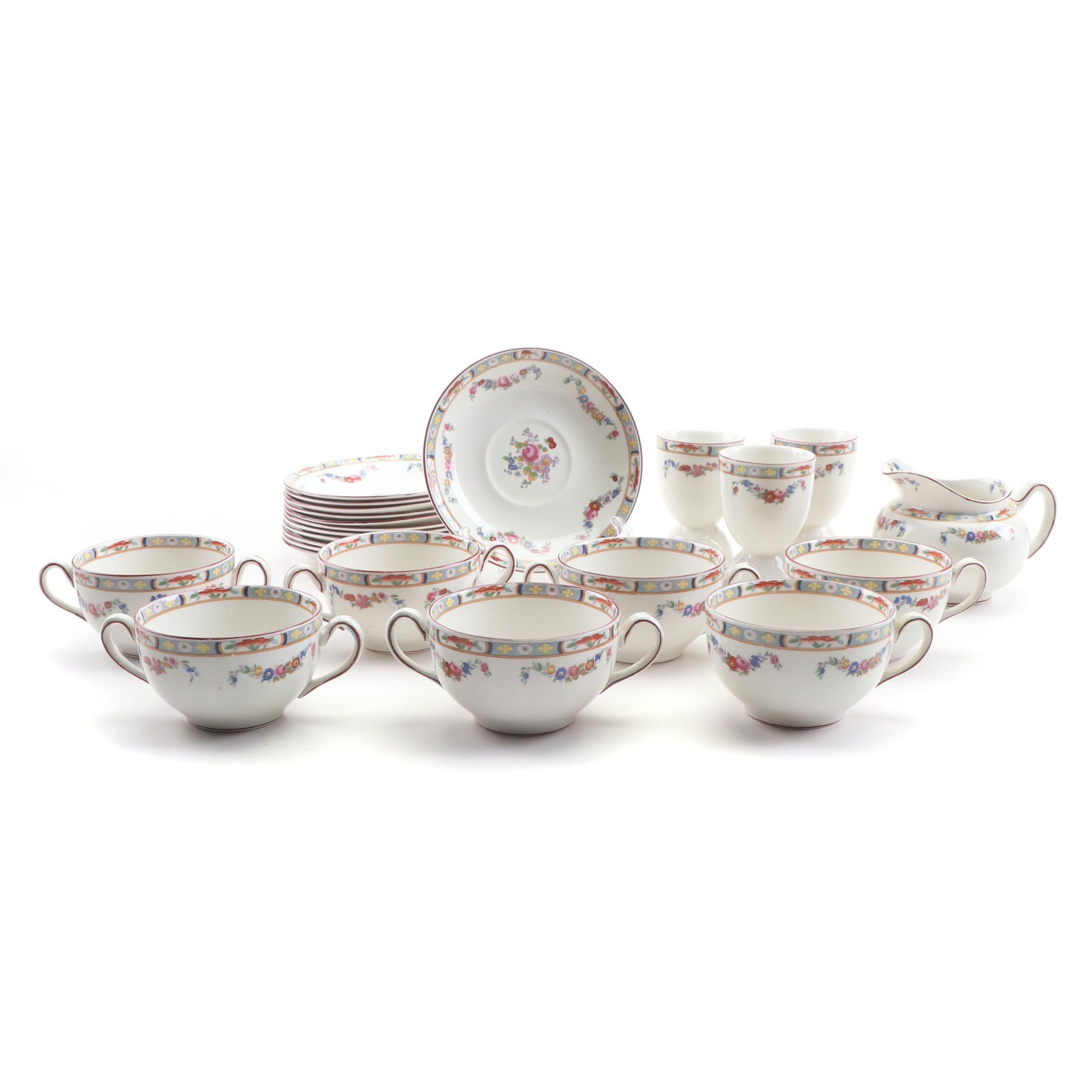 J&G Meakin Ceramic Dinnerware, Late 19th Century