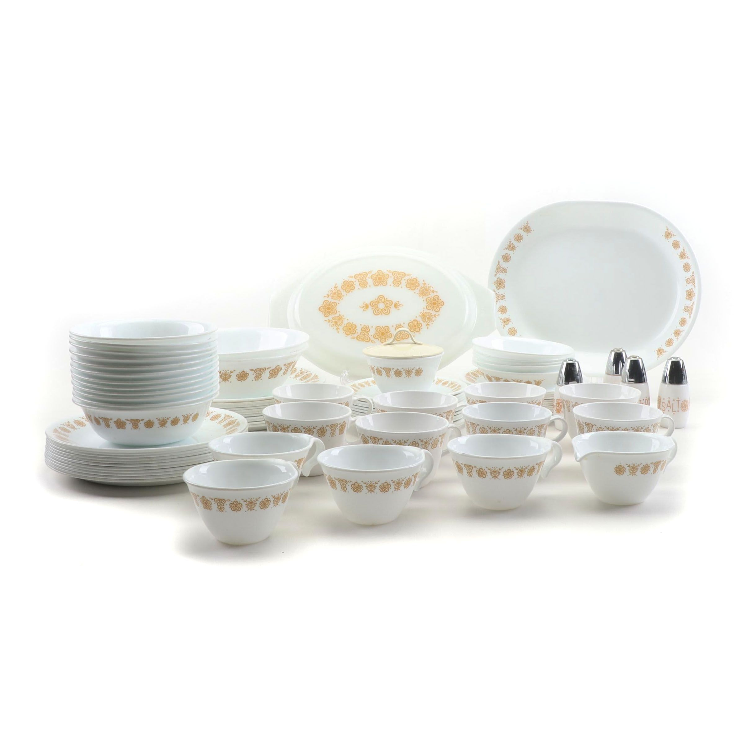 Corning Corette Livingware China Dinnerware