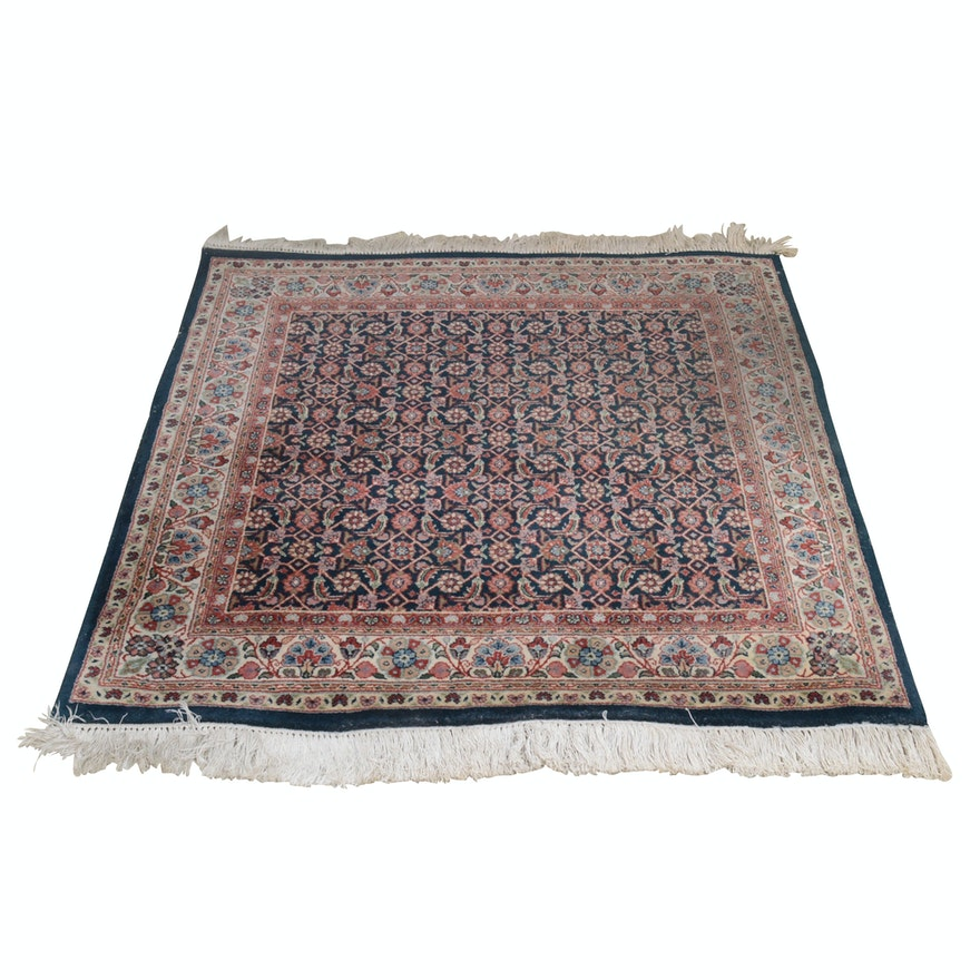 Hand-Knotted Indo-Persian Wool Rug from The Rug Gallery