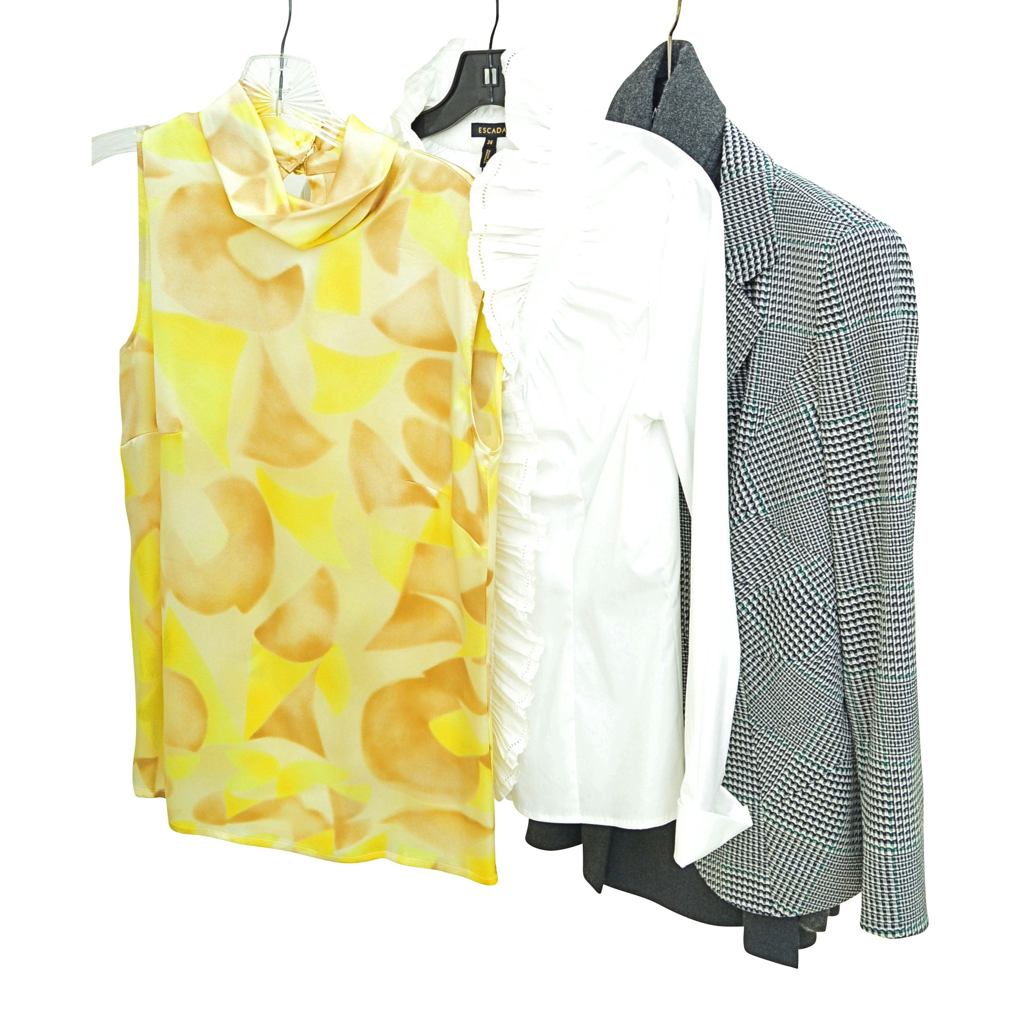 Women's Blouses, Cashmere Sweater and Wool Jacket with Escada, Saks
