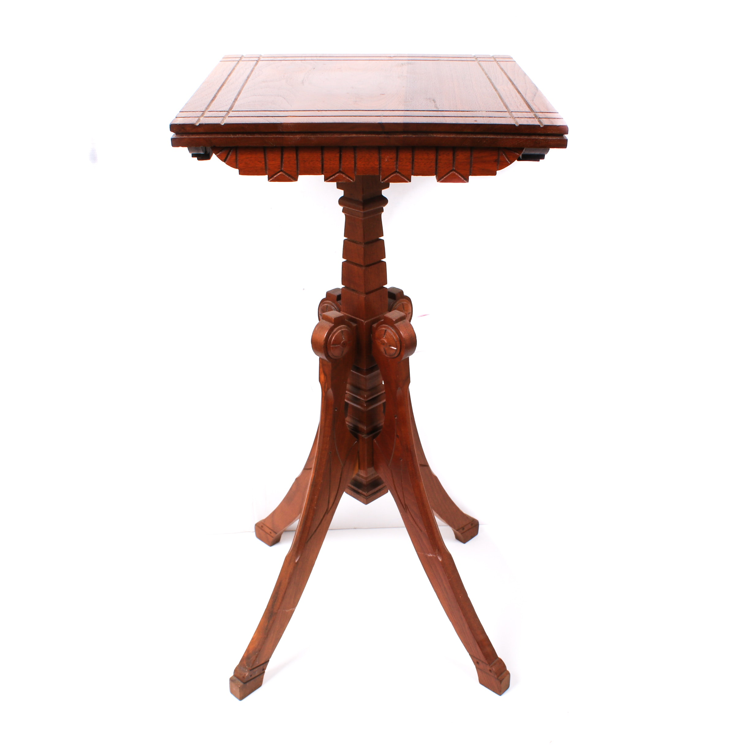 Eastlake Wooden Accent Table