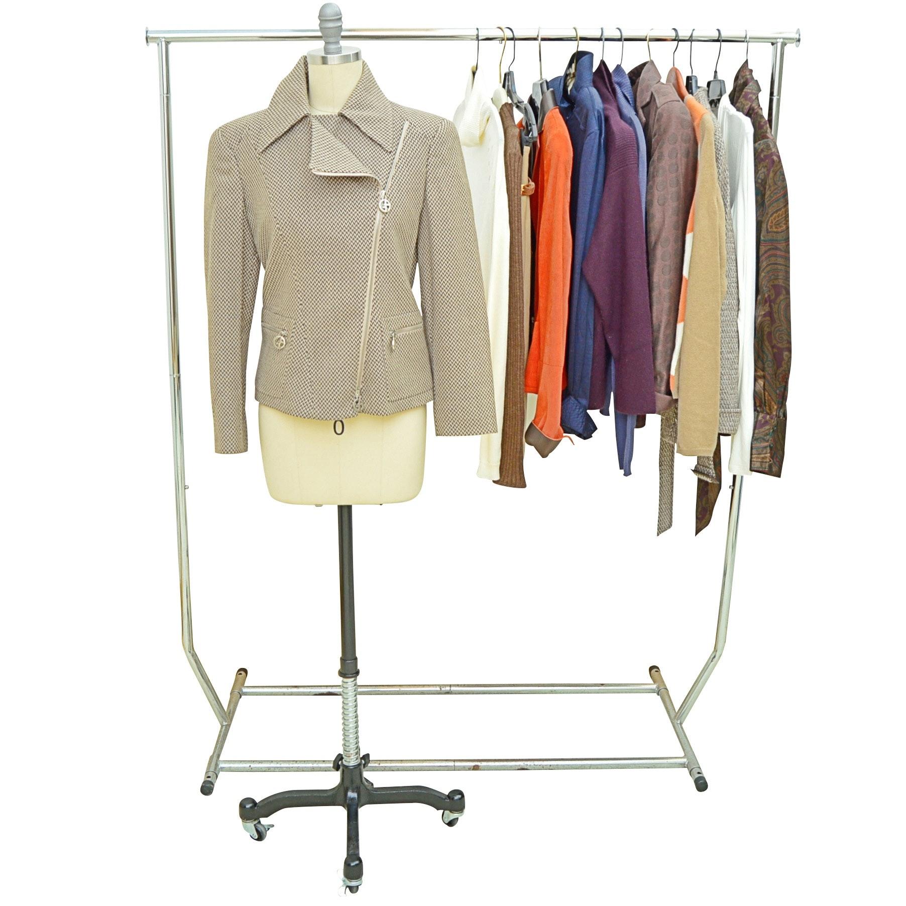 Women's Jackets + Blouses with Armani, Escada, Les Copains, Akris punto, Armani