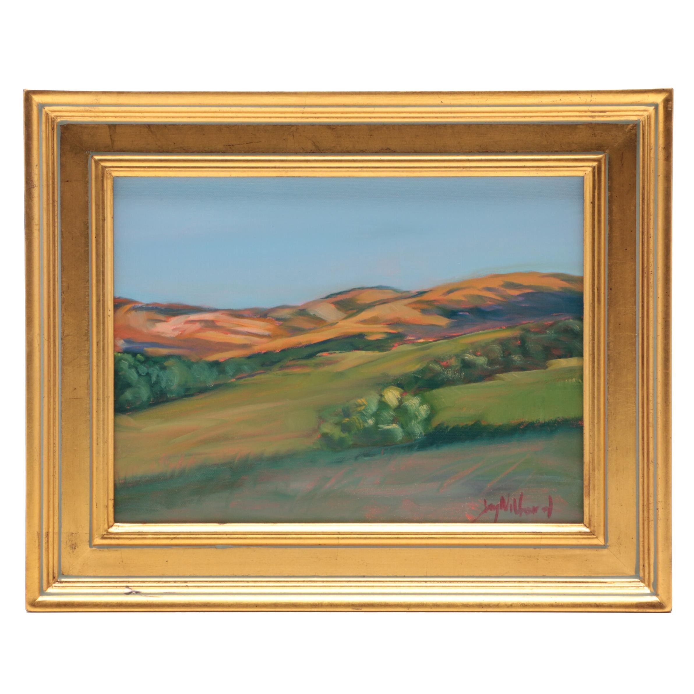 "Jay Wilford Oil Painting ""Foothills"""