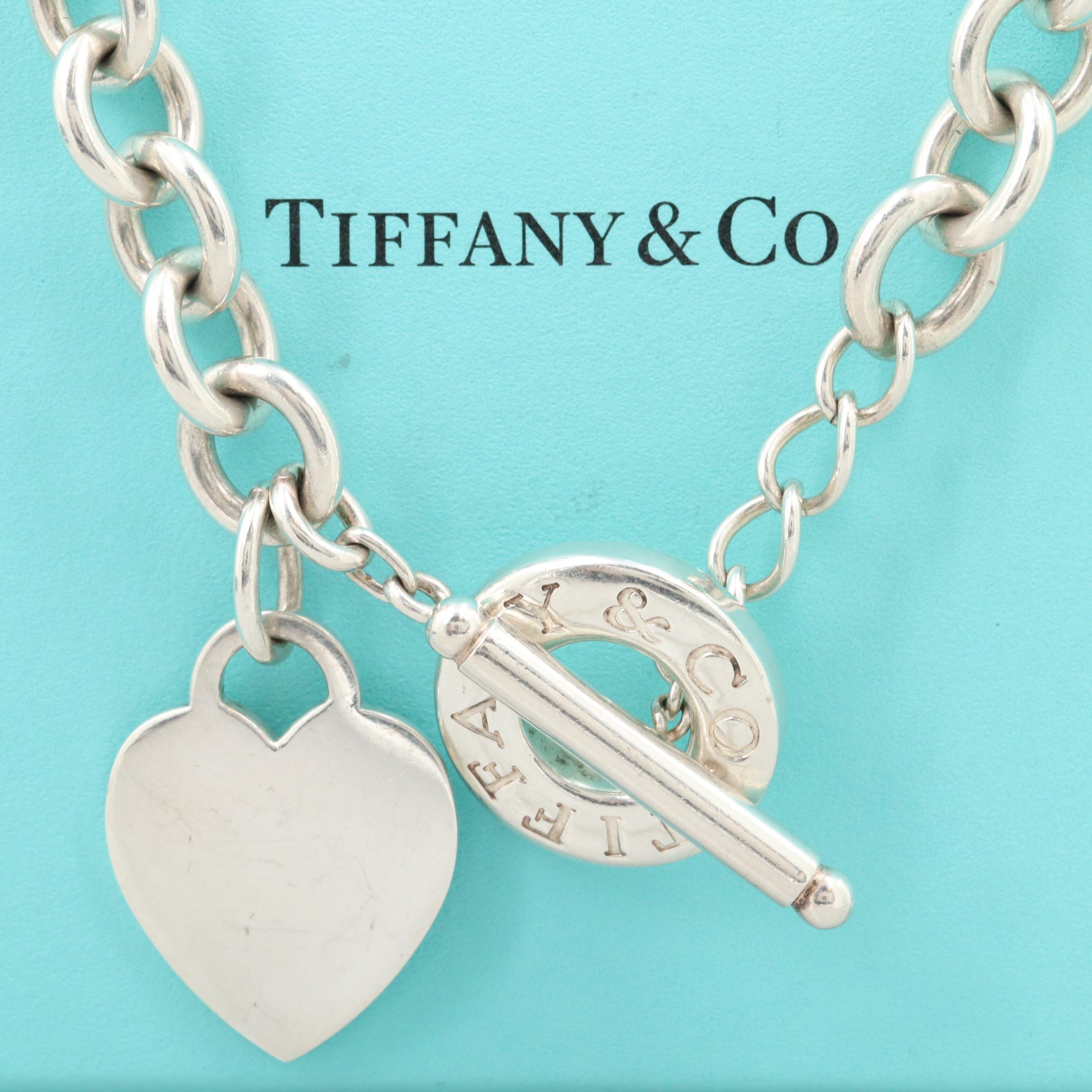 Tiffany & Co. Heart Charm Necklace