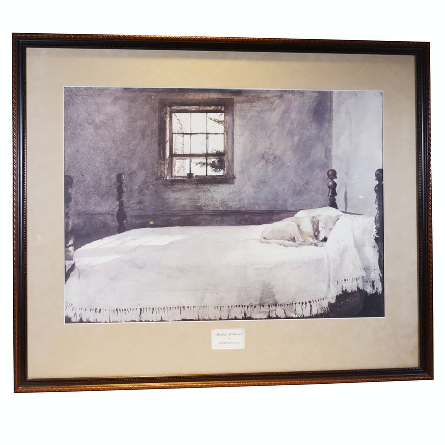 Offset Lithograph after Andrew Wyeth \