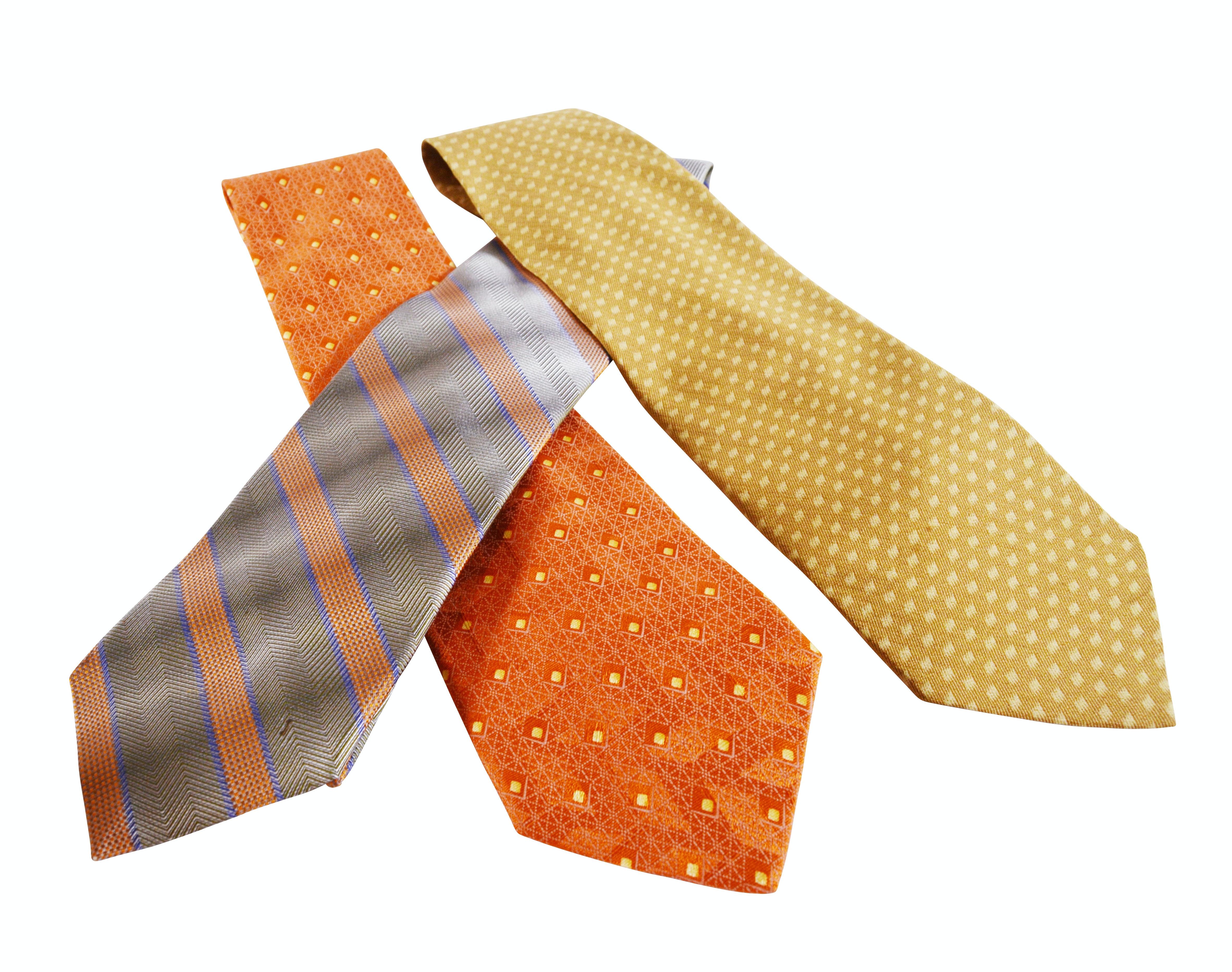 Giorgio Armani Cravatte, Robert Talbott, Ermenegildo Zegna Silk Neckties