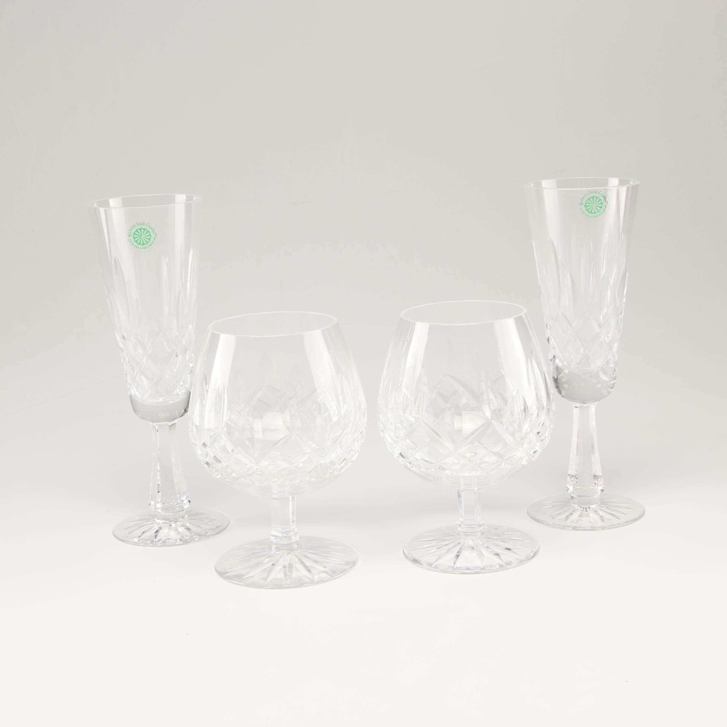 Crystal Stemware Including Waterford
