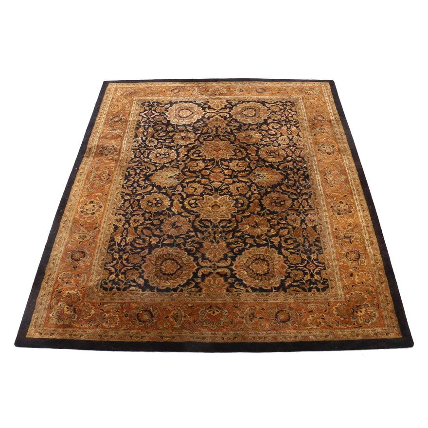 "Hand-Tufted Indian Momeni ""Easperosso"" Wool Room Sized Rug"