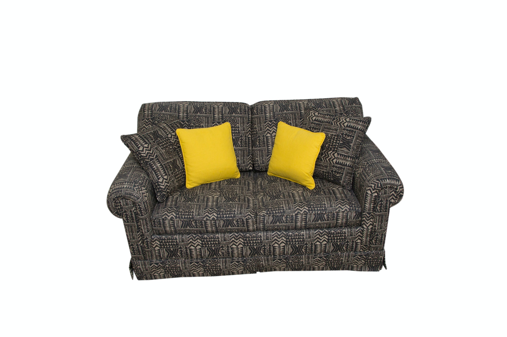 Modern Upholstered Loveseat