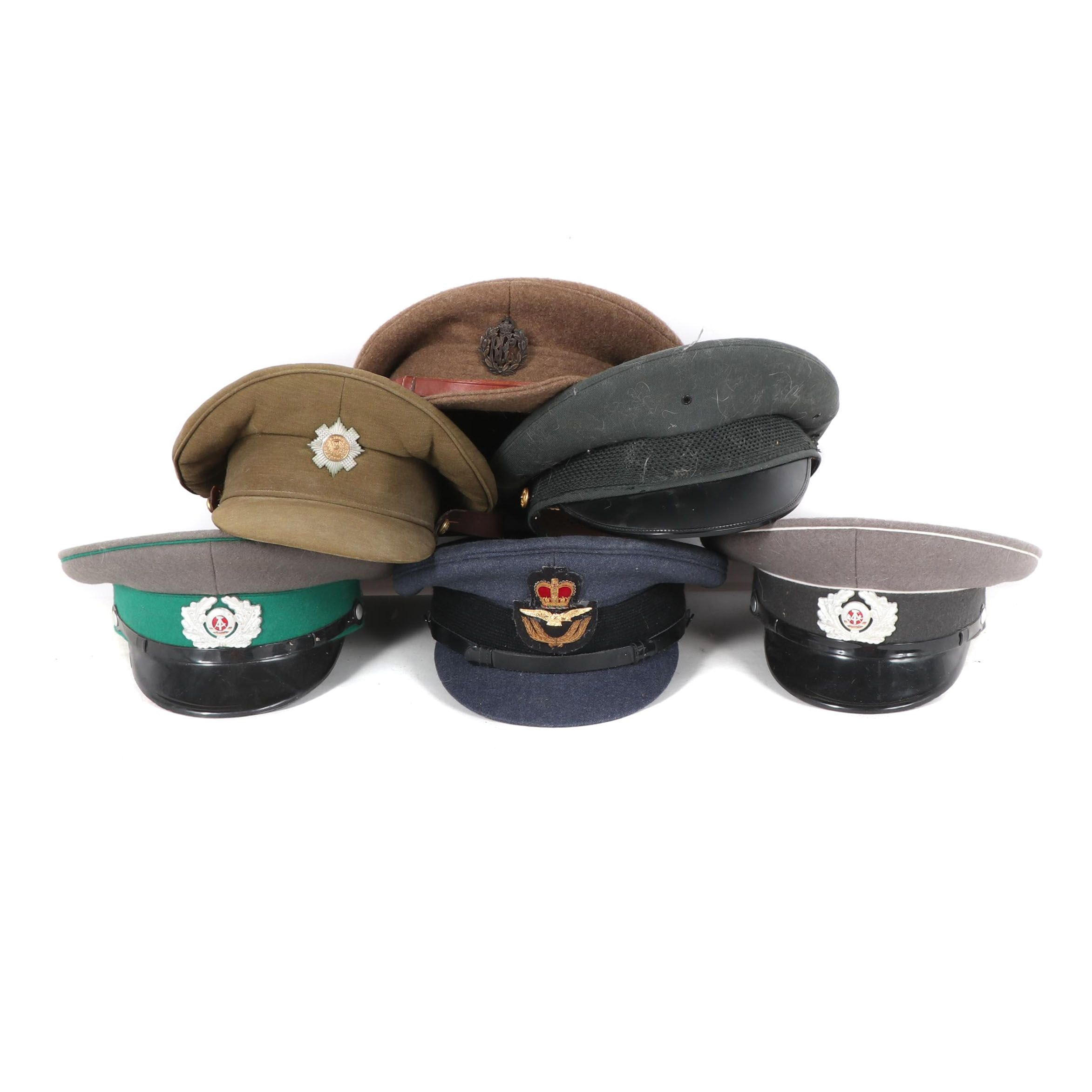 German and Other Military Uniform Caps