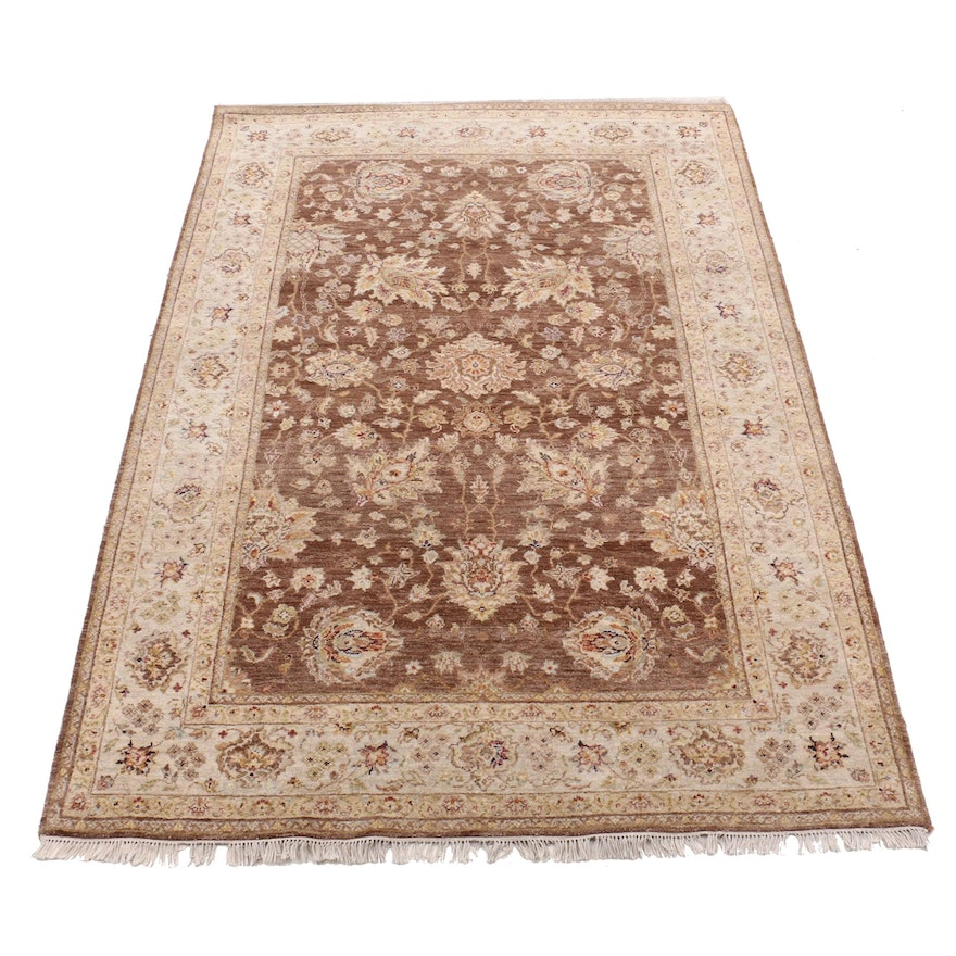 Power Loomed Indian Agra Style Wool Area Rug from Arhaus Furniture