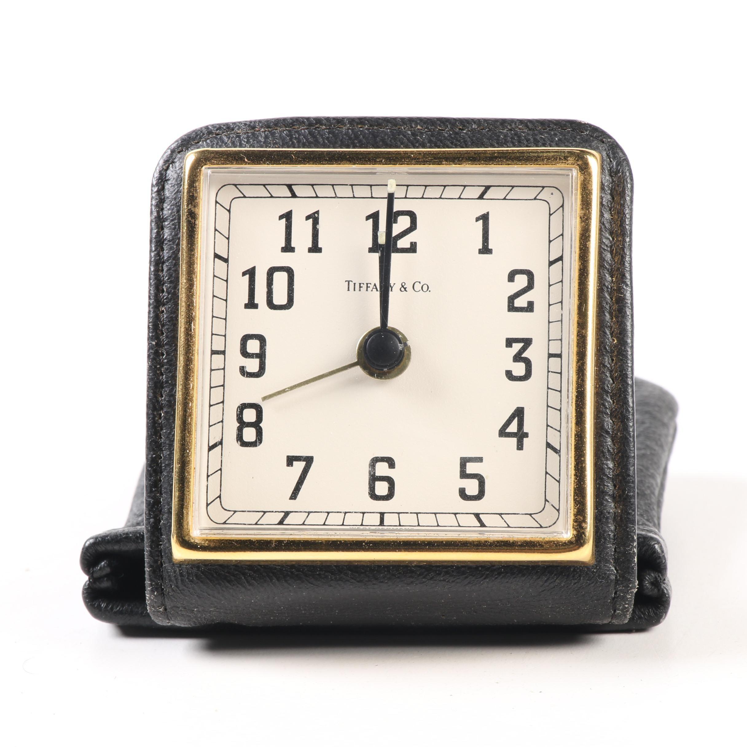 Tiffany & Co. Travel Clock