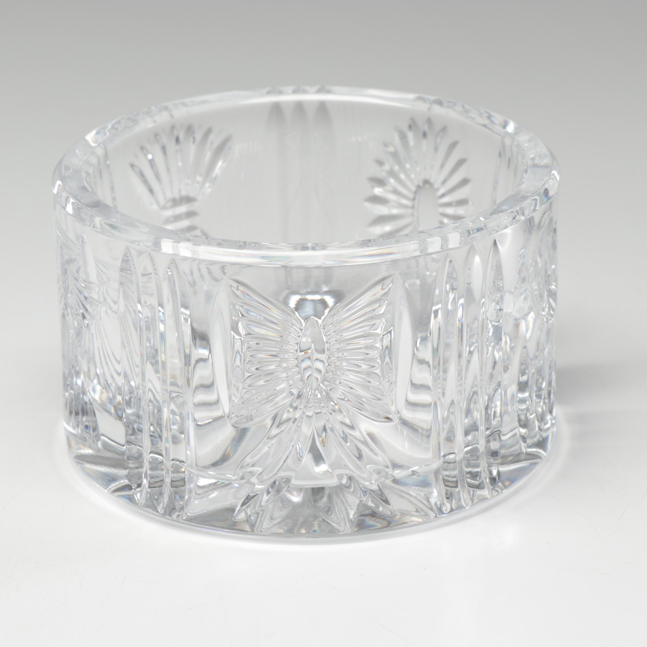 Waterford Crystal Millennium Collection Champagne Bottle Coaster
