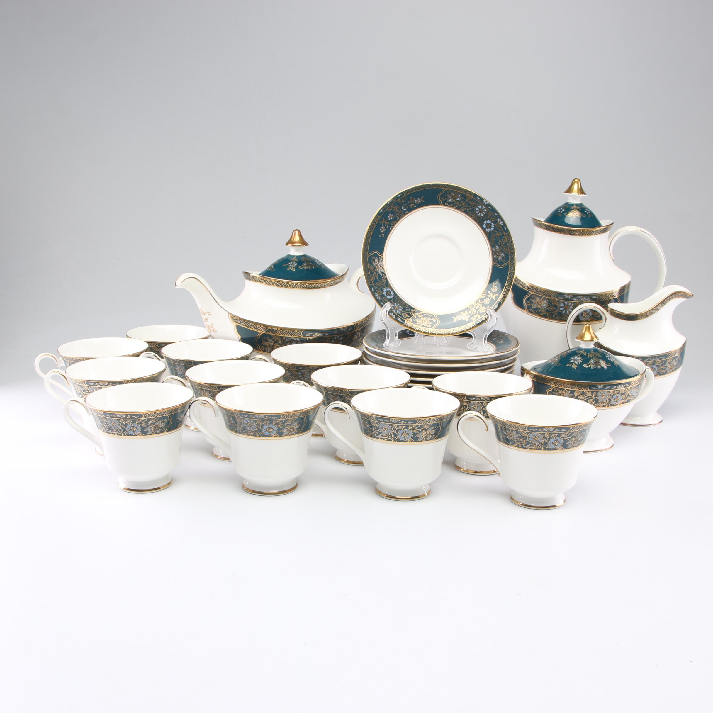 "Royal Doulton ""Carlyle"" Tea and Coffee Service Set"