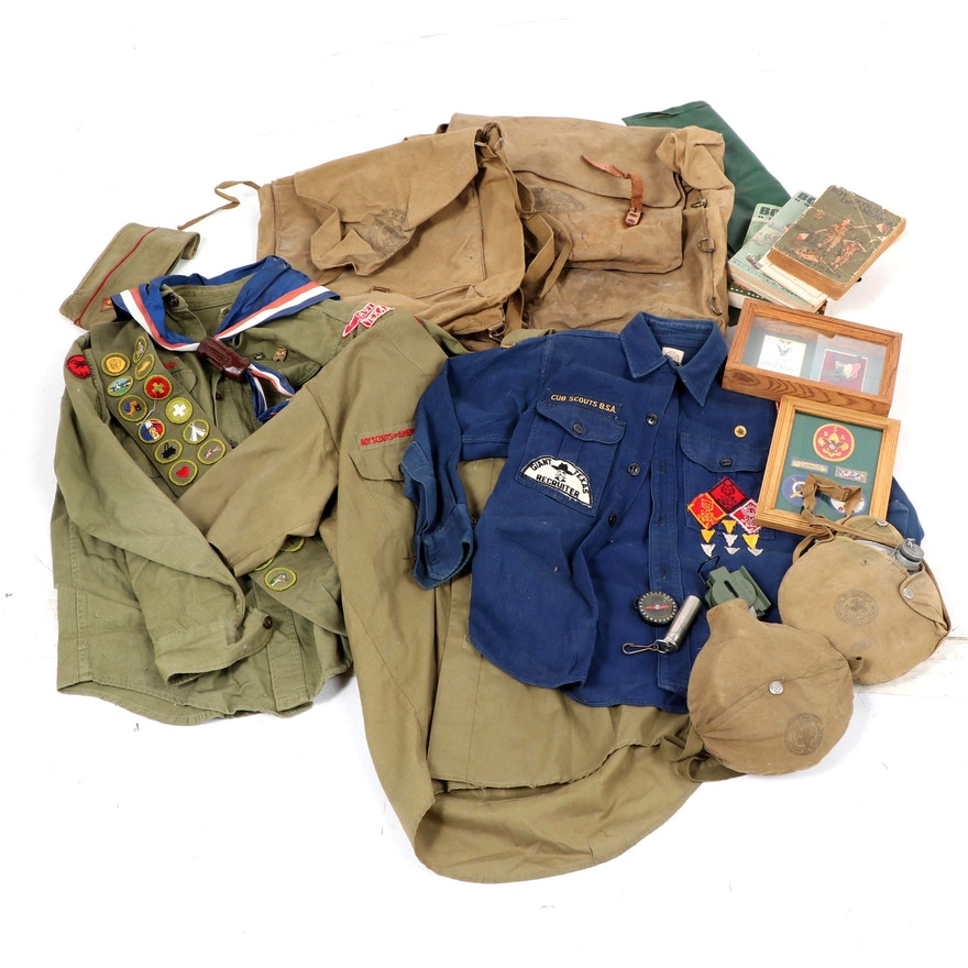 Boy Scouts of America Uniform's, Handbooks and Gear, Vintage