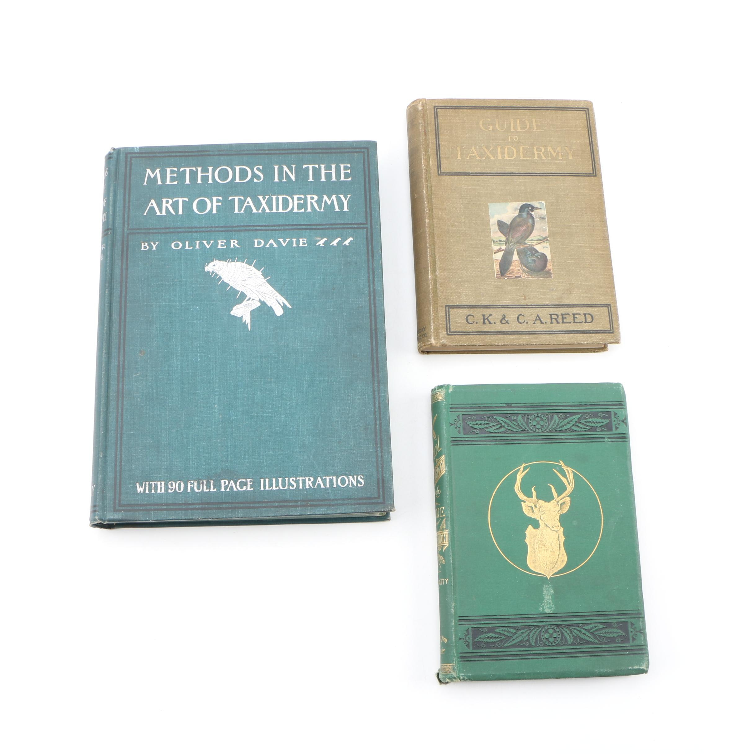 """Oliver Davie's """"Methods in the Art of Taxidermy"""" and More"""