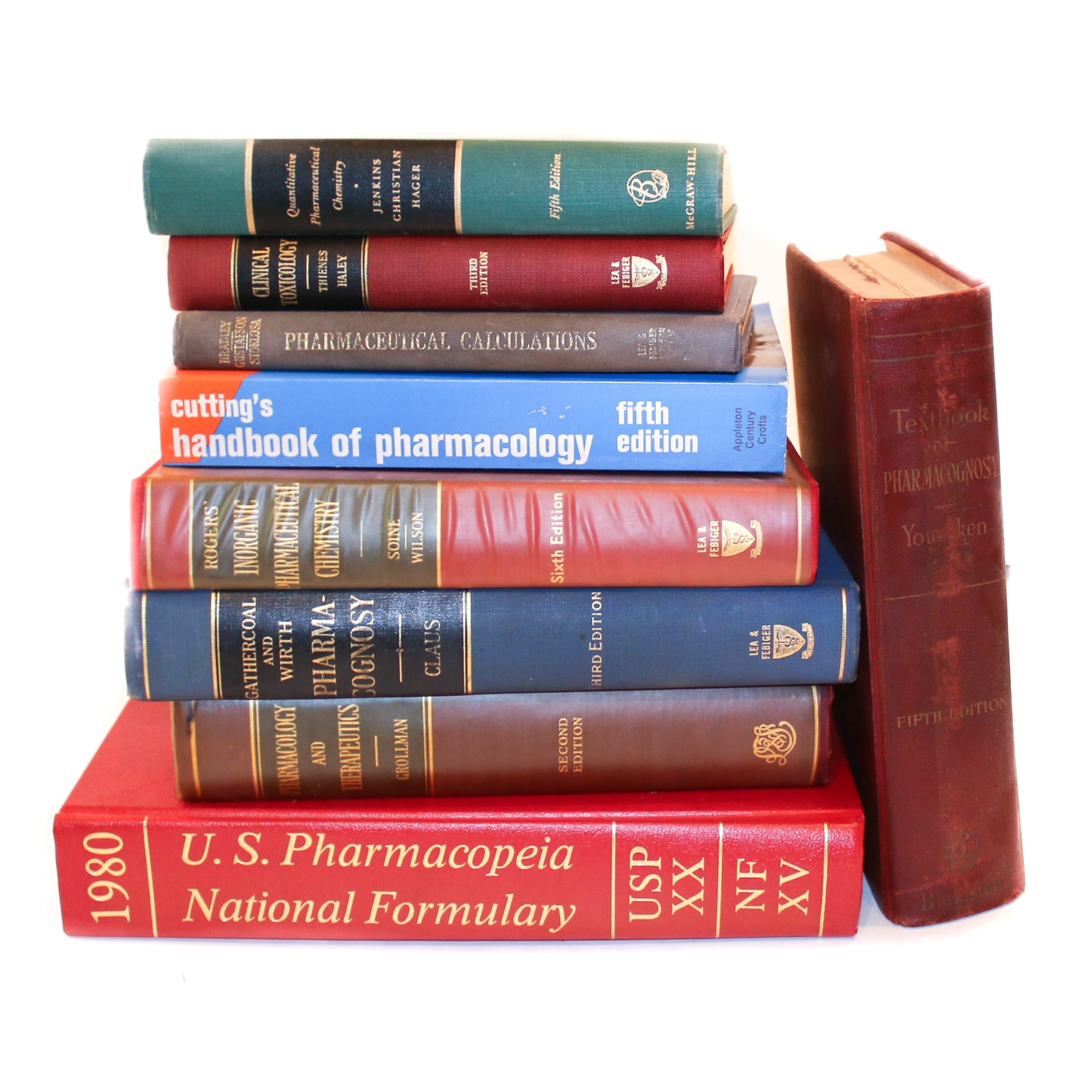 Pharmacology Reference Books and Textbooks