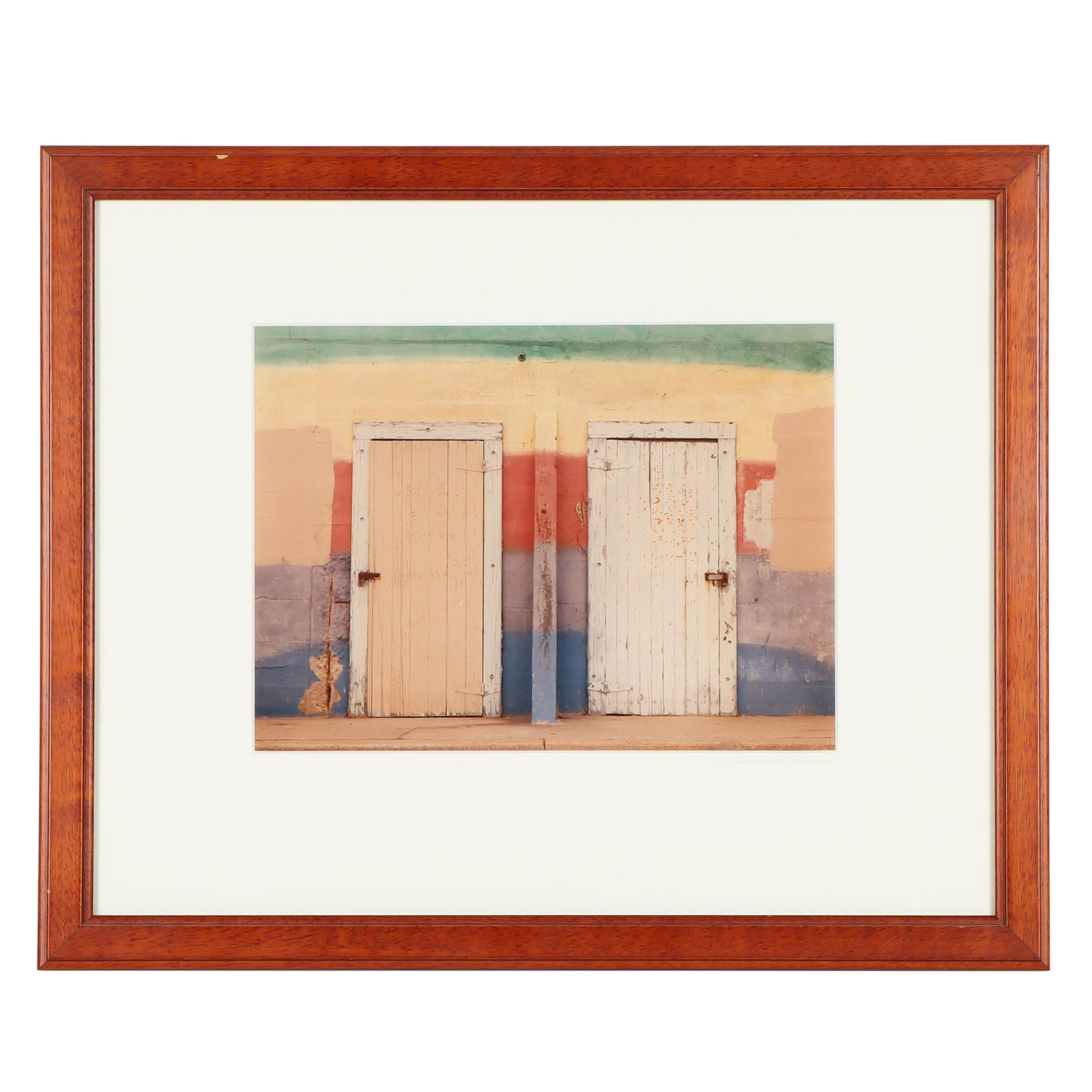 Giclée of Two Doors
