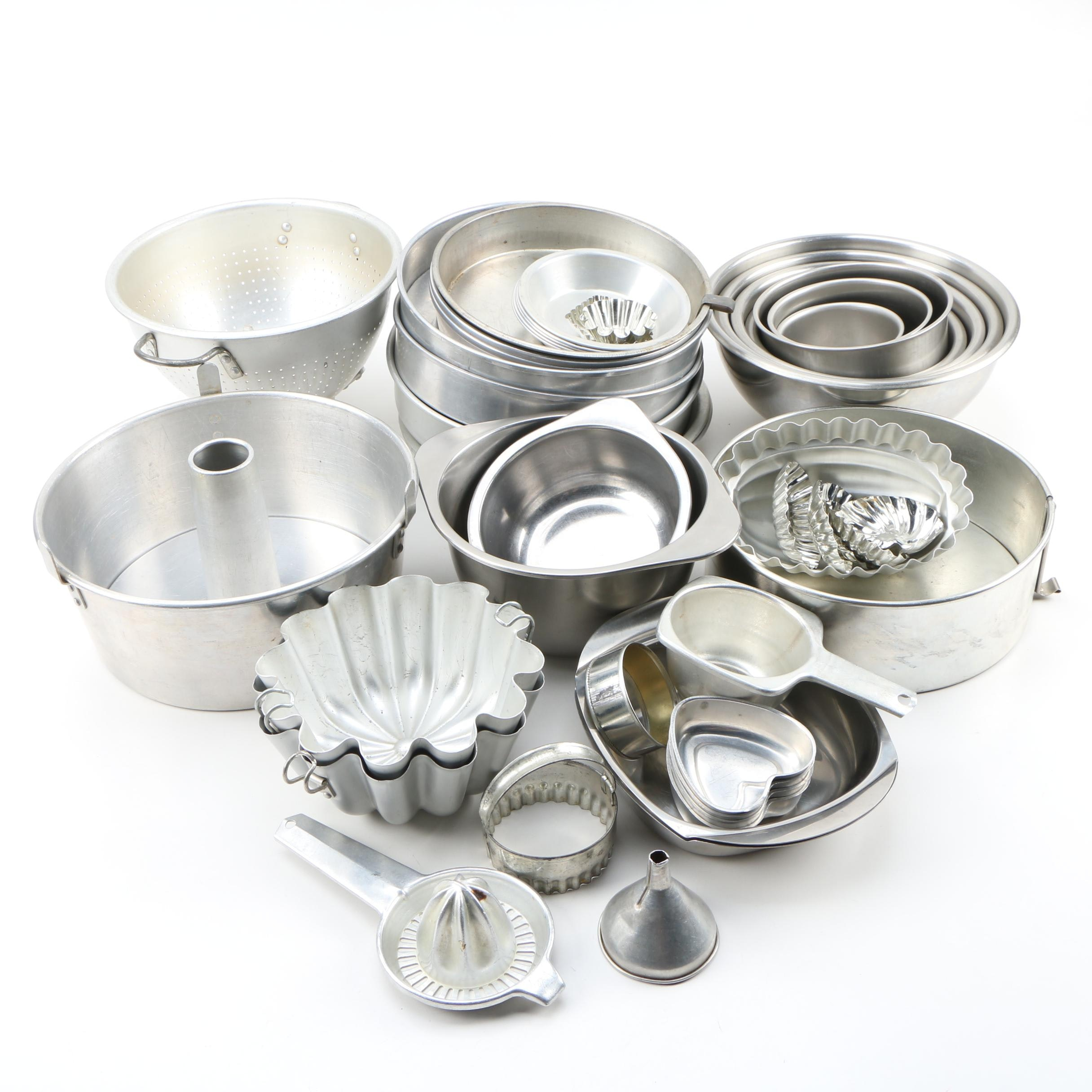 Stainless Steel and Aluminum Bakeware and More