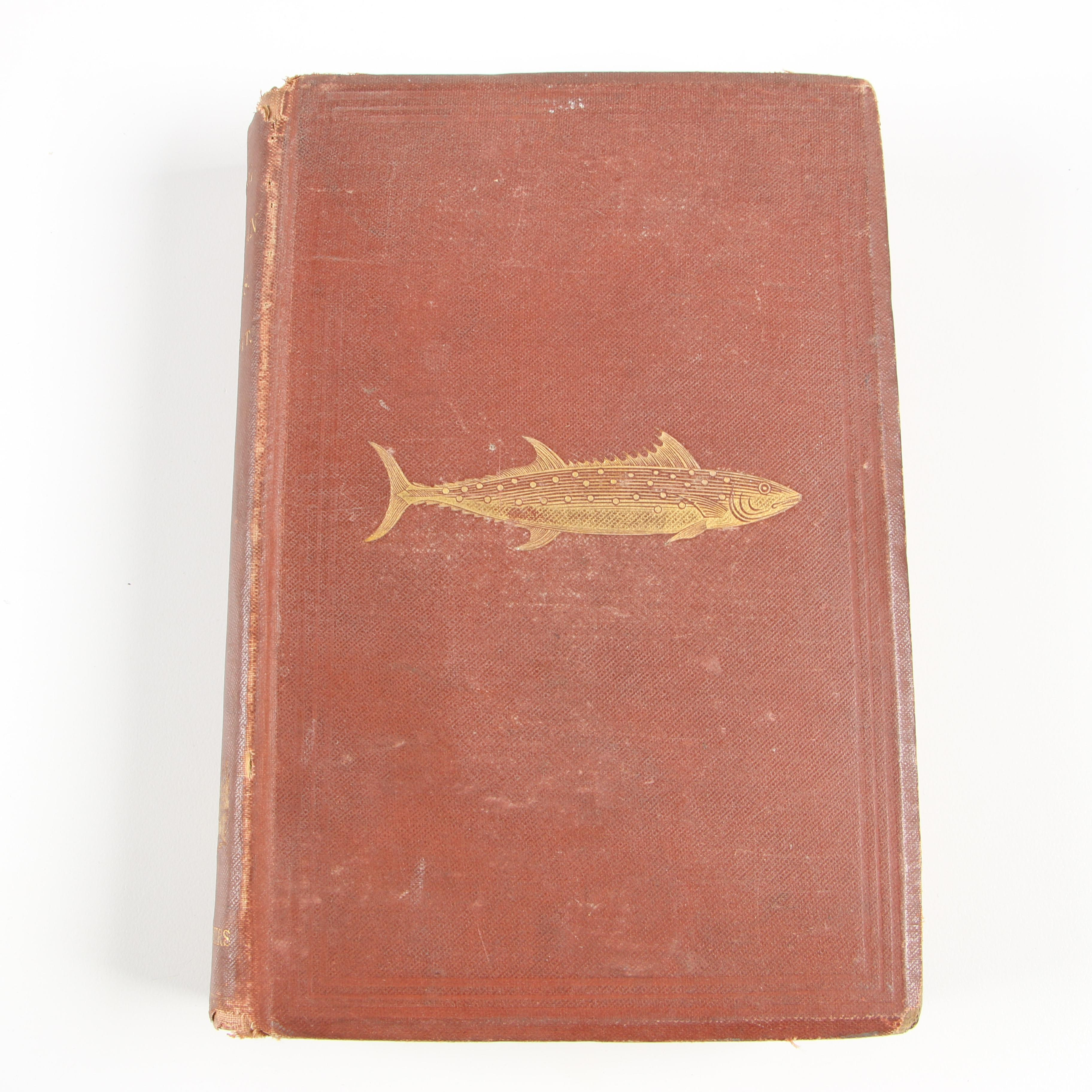 """Fishing Books featuring """"The Complete Angler"""" by Izaak Walton and Charles Cotton"""