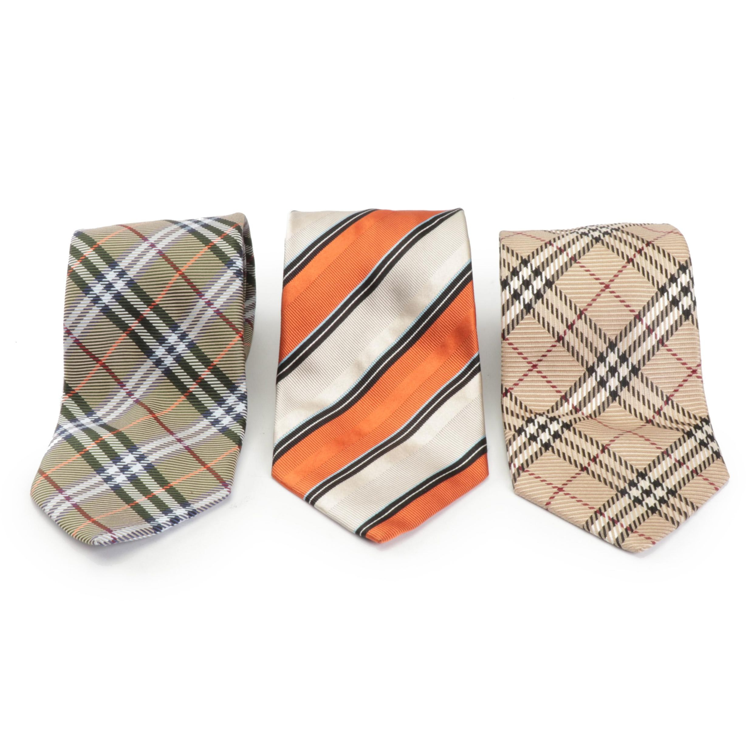 Men's Burberry Silk Neckties