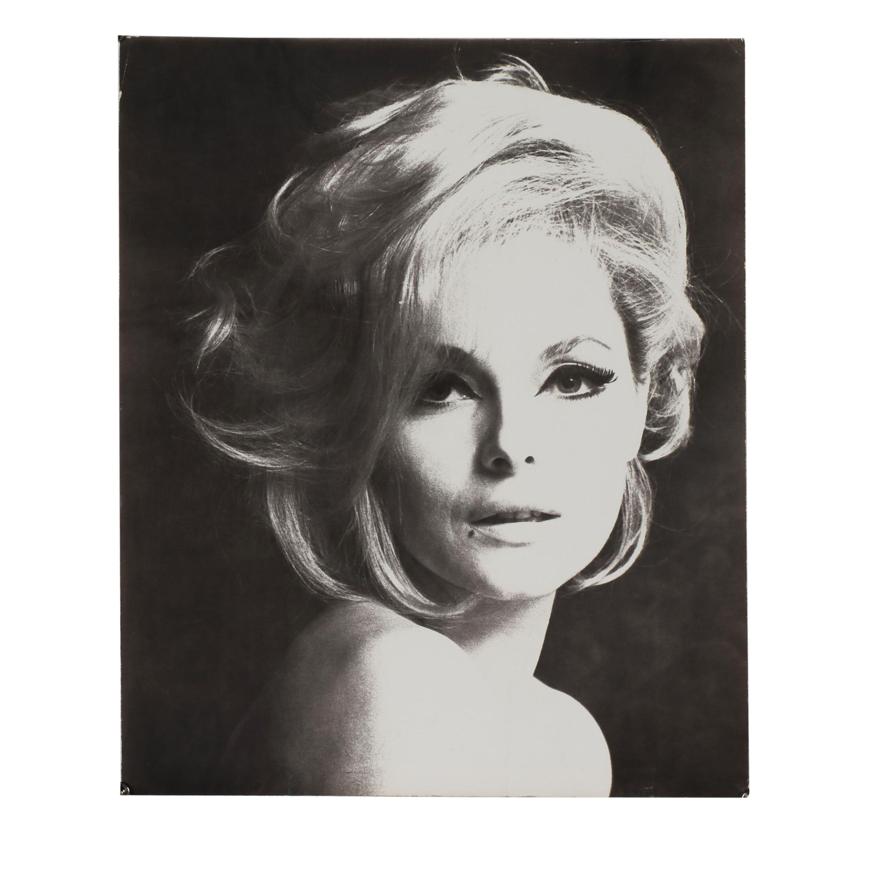 "Carl Fischer Silver Gelatin Print ""Virna Lisi, Rome. 1964"""