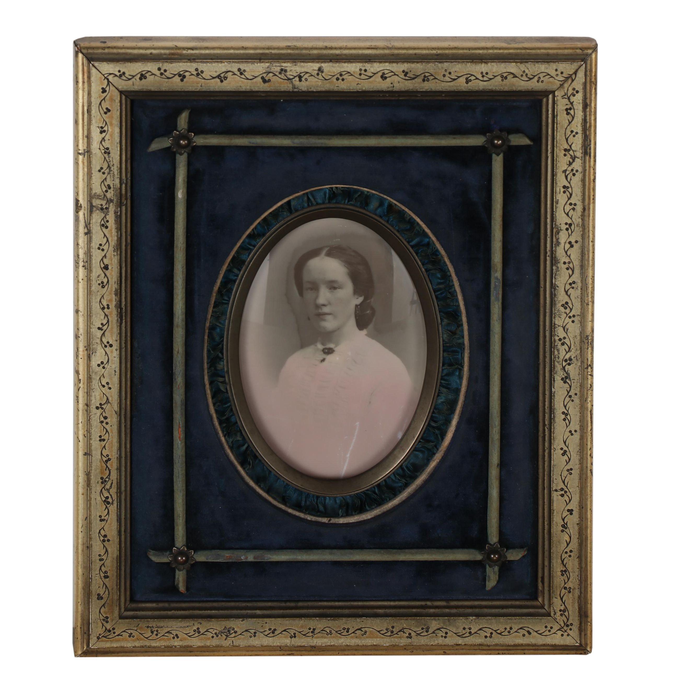 Opalotype Portrait Photograph, Circa 1880