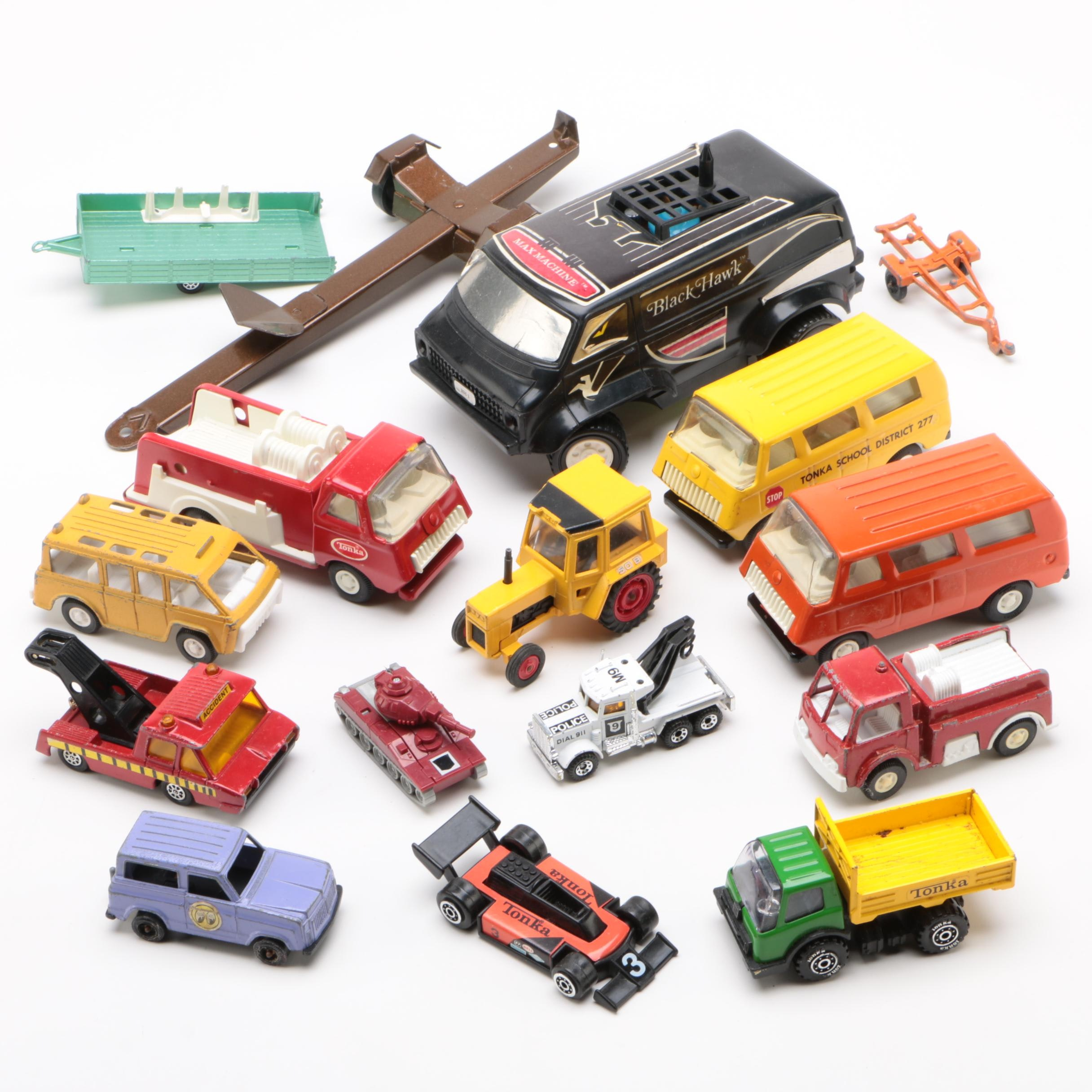 Tonka Toy Trucks and More, 1970s - 1980s