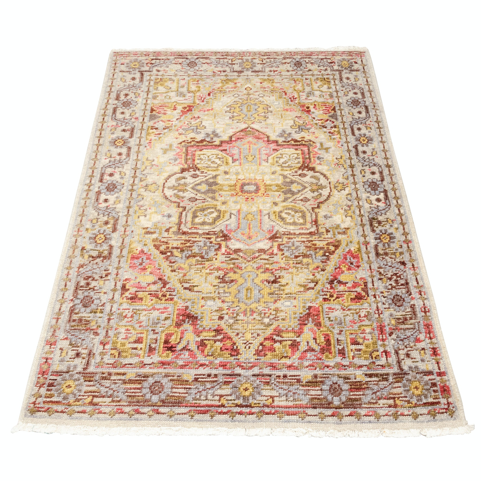 "Machine-Made Surya Indian ""Cappadocia"" Wool Rug"