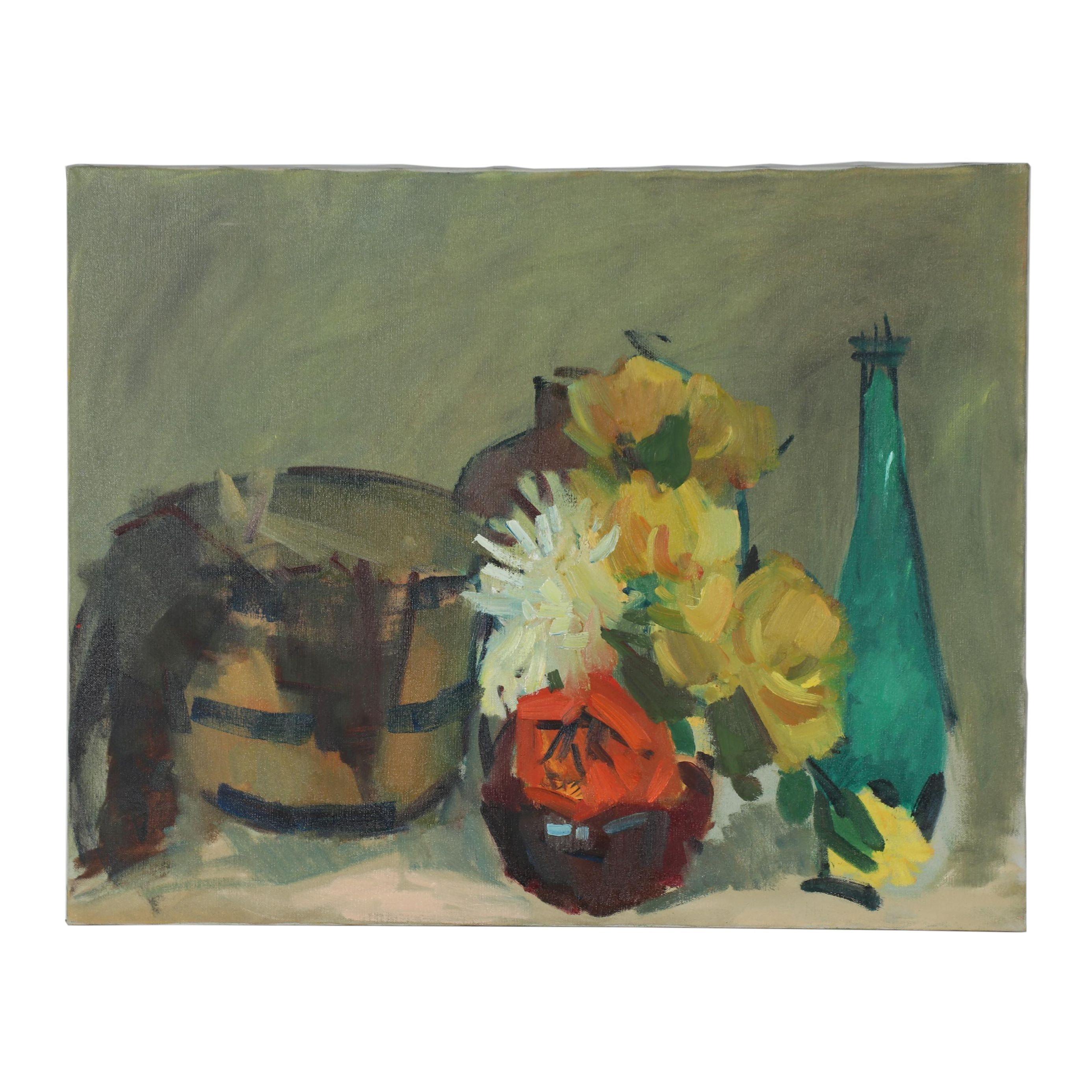 21st Century Still Life Oil Painting