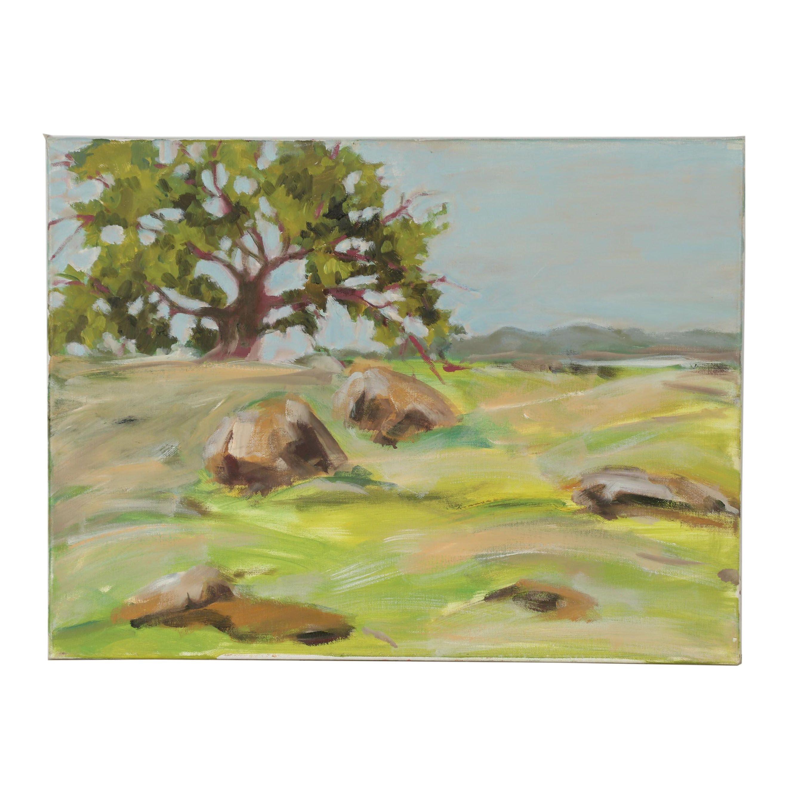 21st Century Landscape Oil Painting