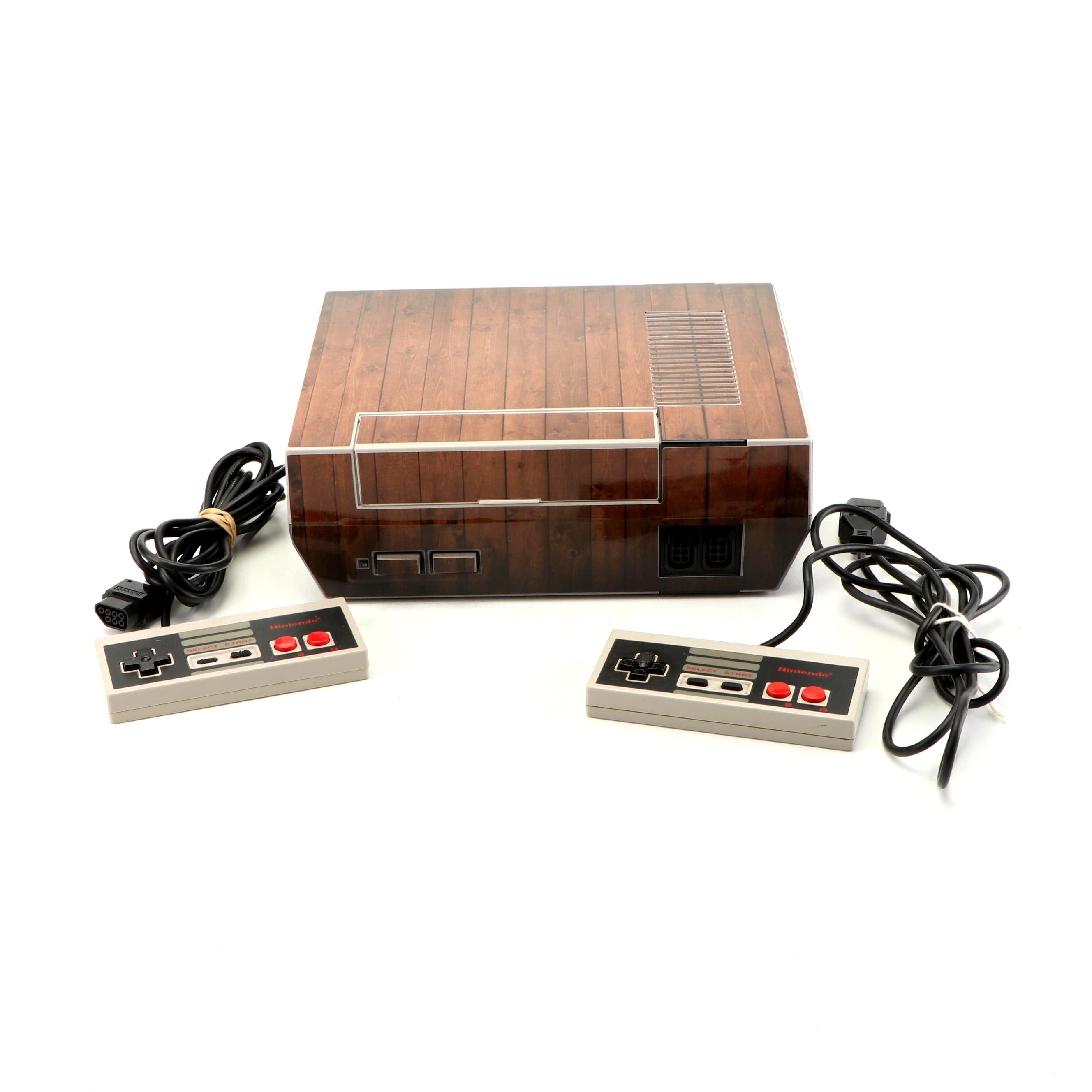 Nintendo Entertainment System, Model NES-001