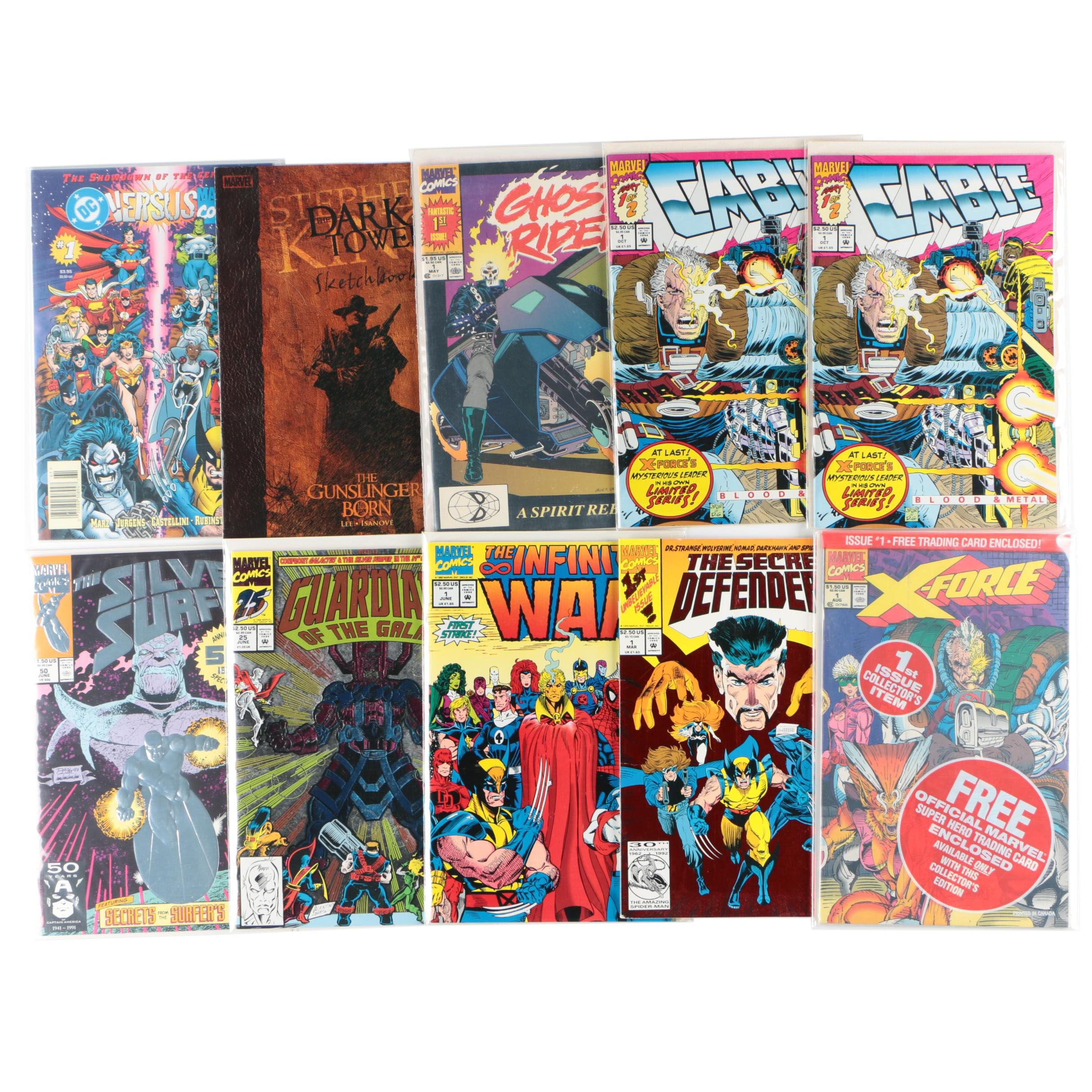 "Modern Age Marvel Comic Books Including ""Guardians of the Galaxy"" and More"