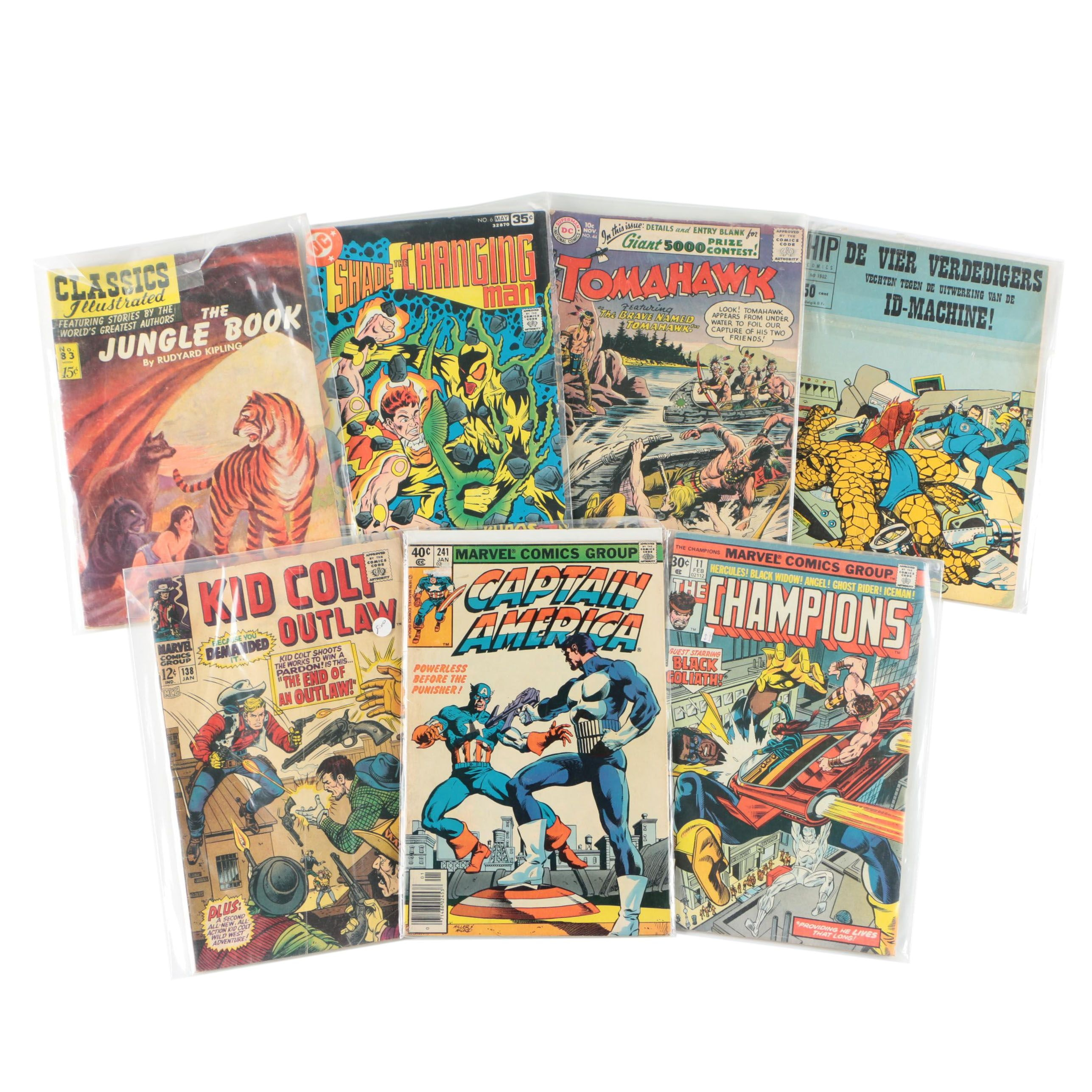 Assorted Comic Books by DC, Marvel, and More