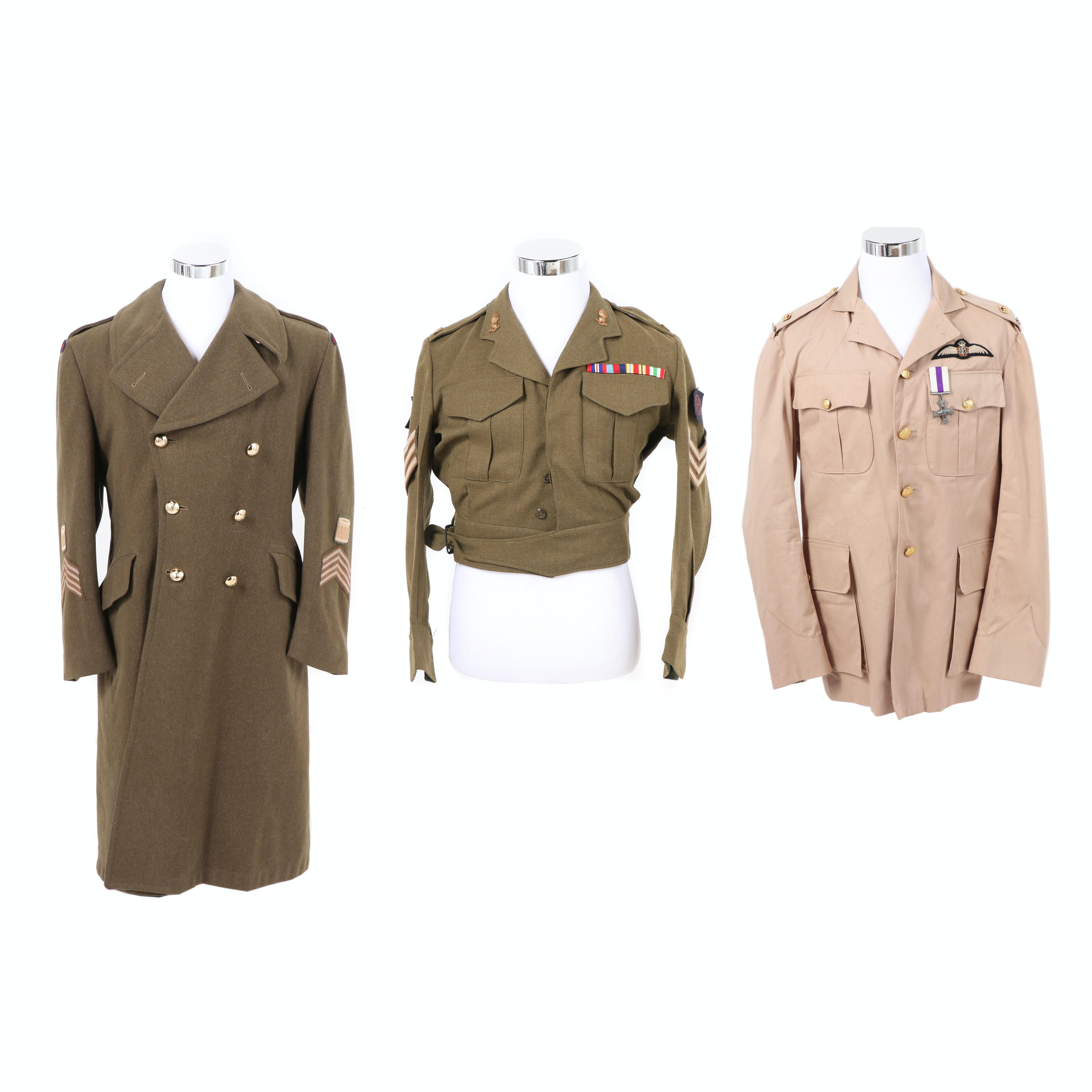 British-Canadian Military Style Jackets with 48th Highlanders of Canada Coat